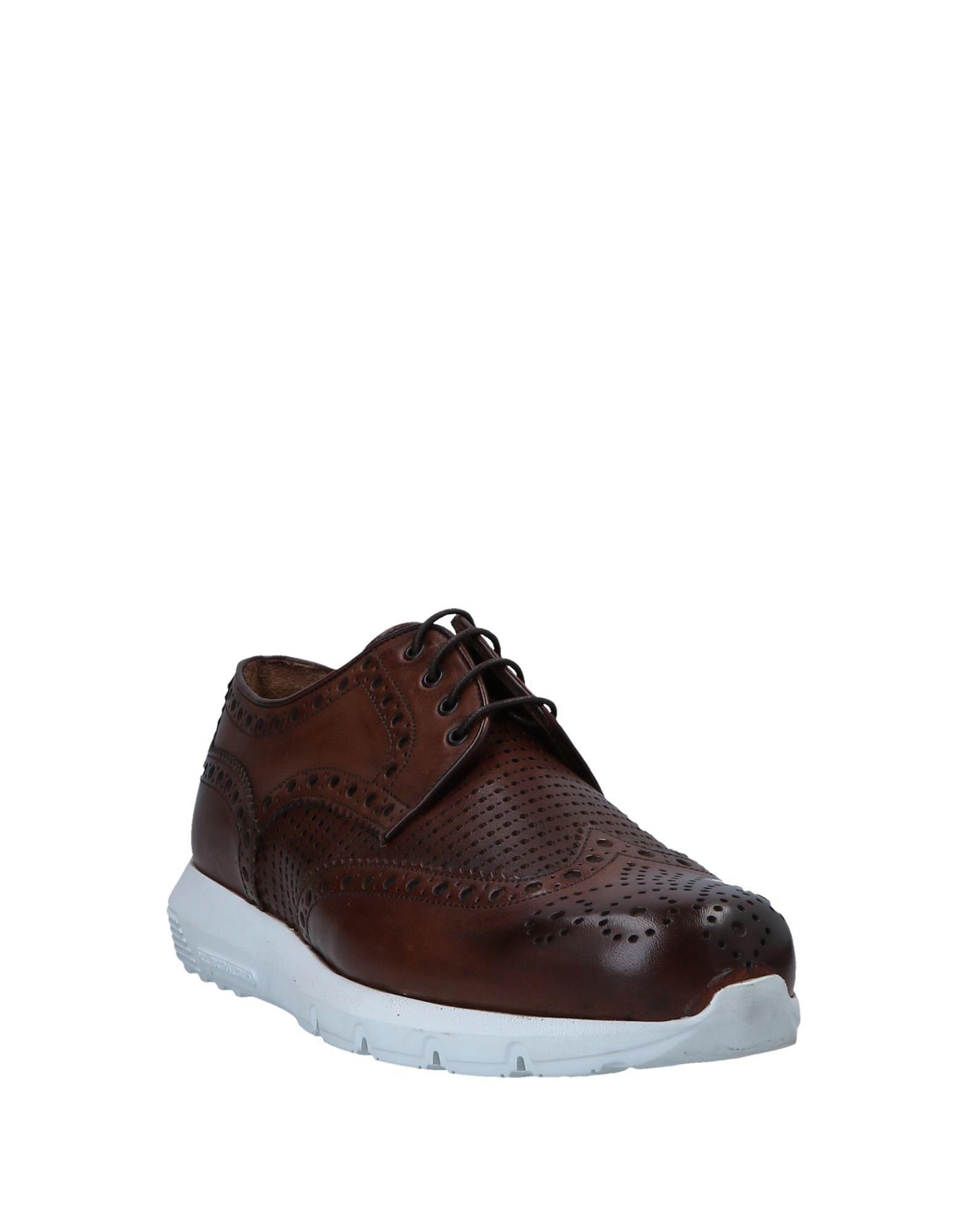 Zapatos de cordones Baldinini de Cuero de color Marrón para hombre