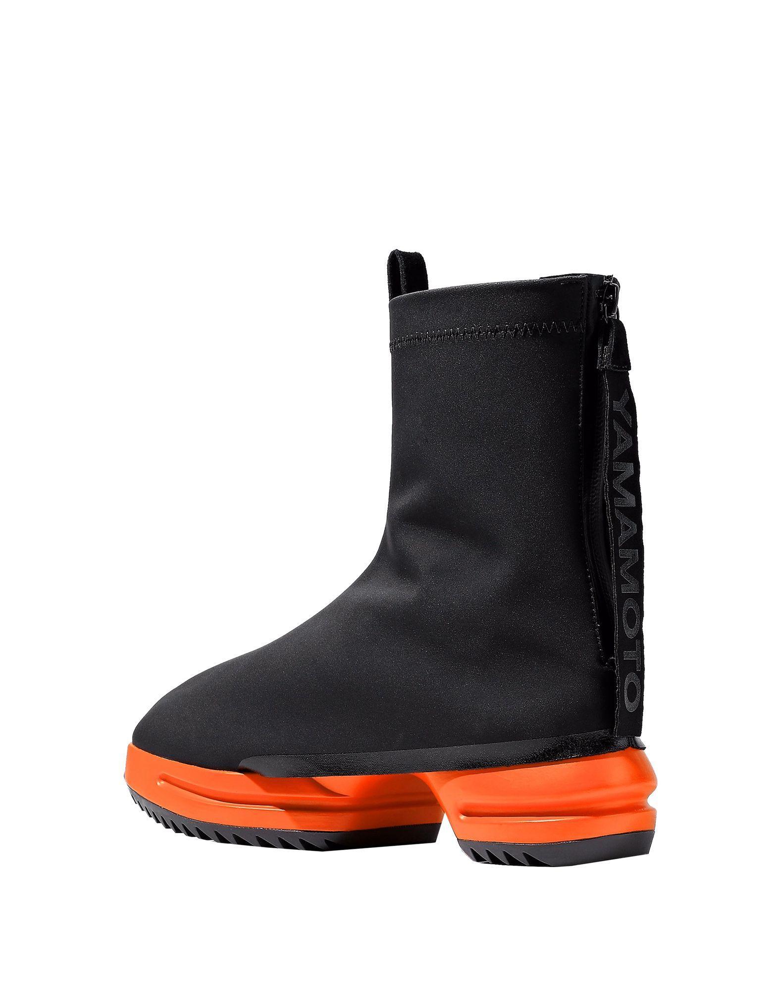 Y-3 Neoprene Ankle Boots in Black