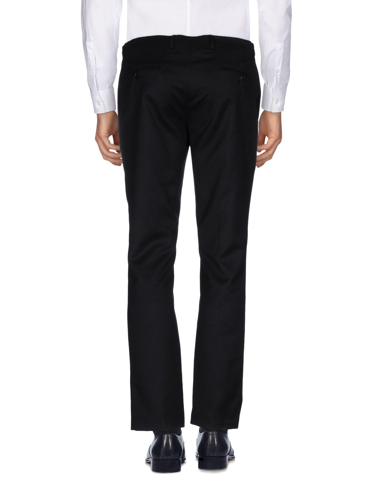 Bolongaro Trevor Flannel Casual Pants in Black for Men