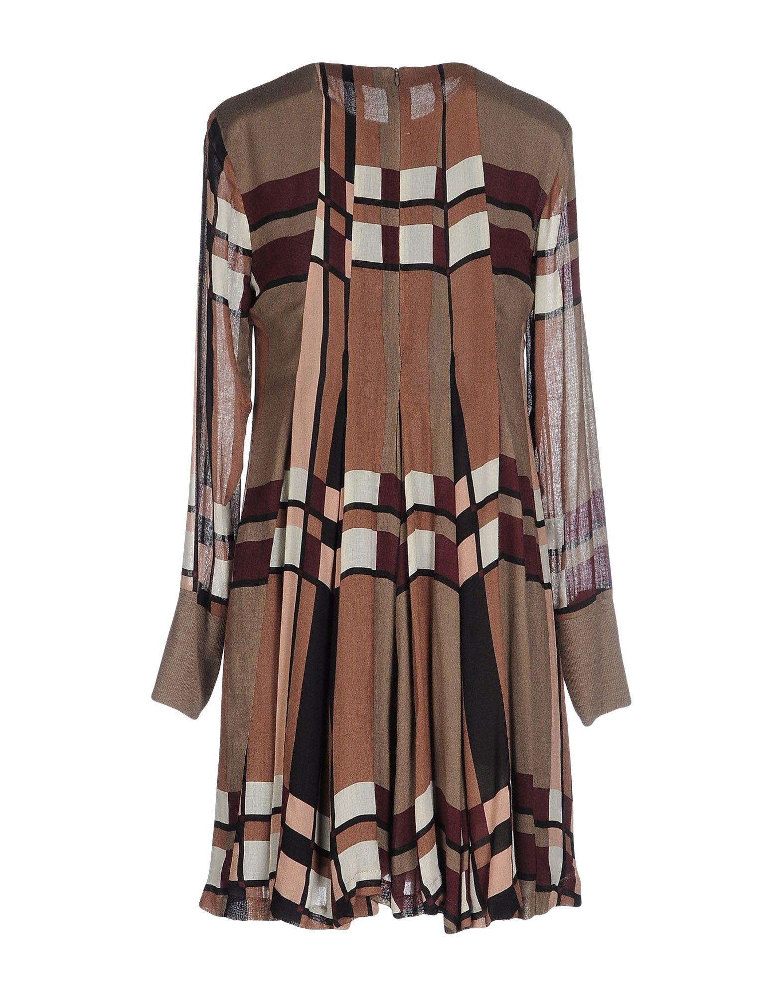 Mariagrazia Panizzi Short Dress In Natural Lyst