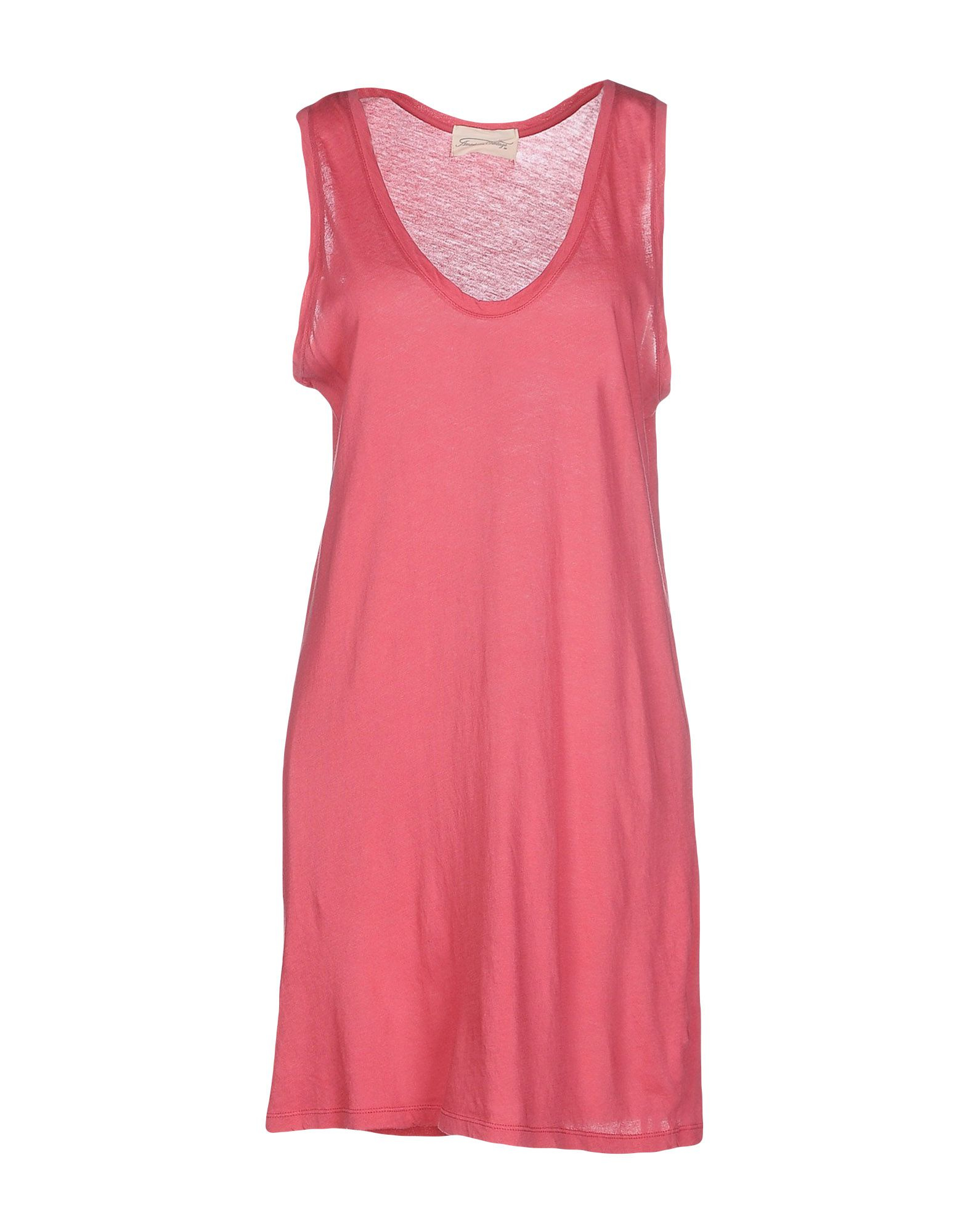 American Vintage Short Dress In Pink Pastel Pink Lyst