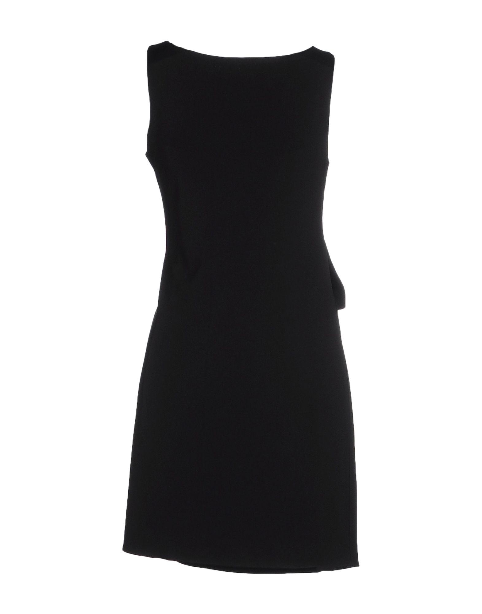 Lyst Versus Short Dress In Black