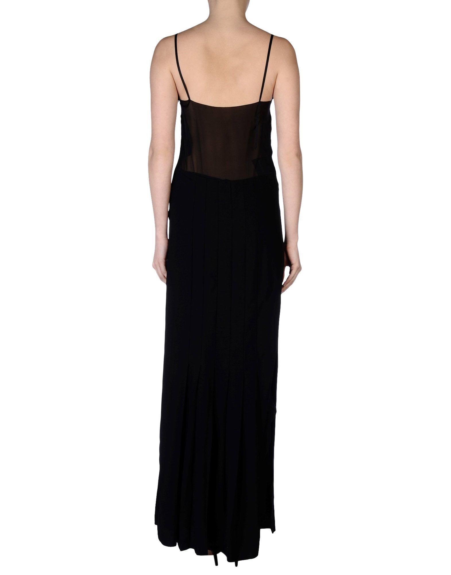 73d4895d274 Lyst - Prada Long Dress in Black Prada Evening Gowns Evening  Dresses dressesss