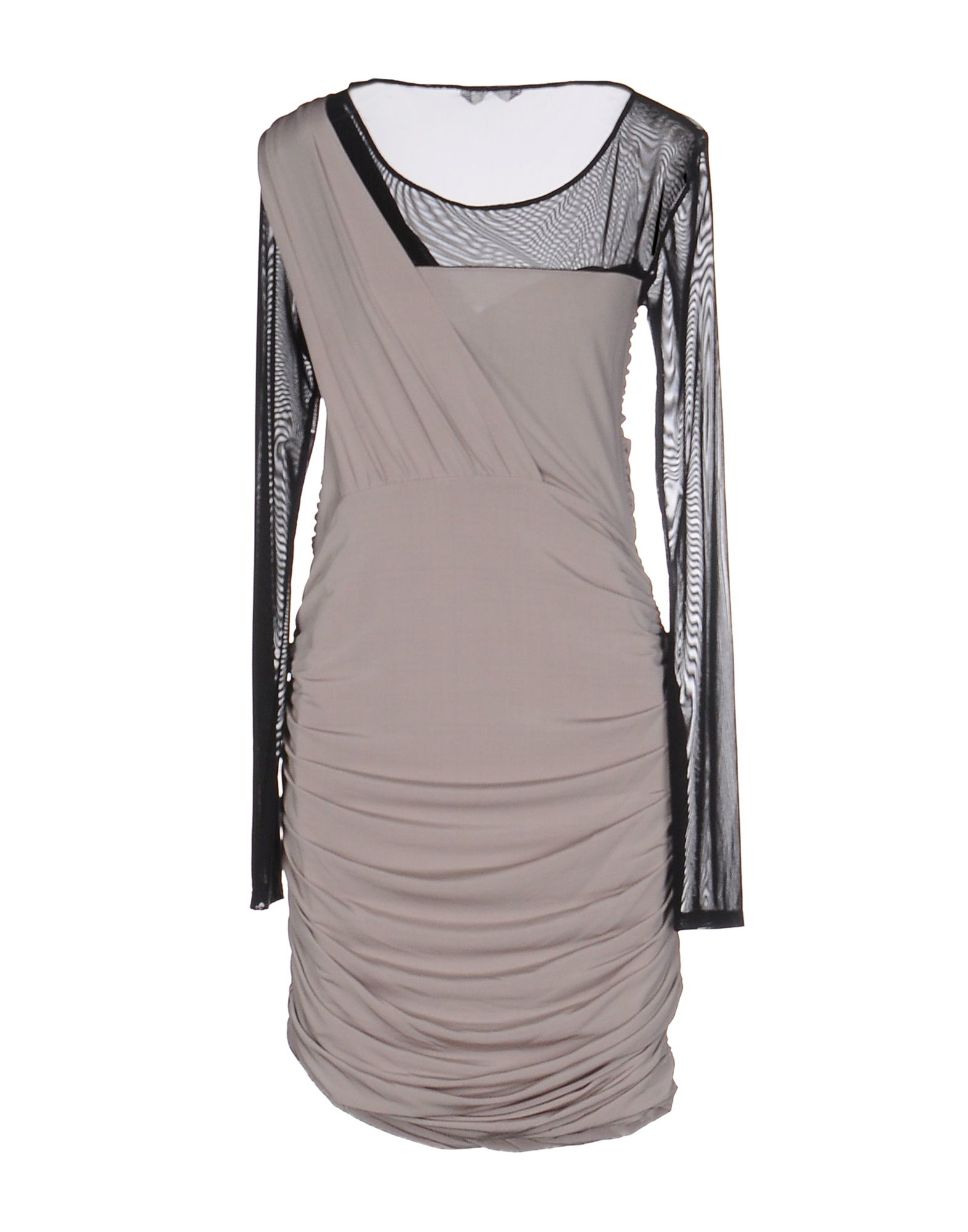 Guess Short Dress In Gray Lyst