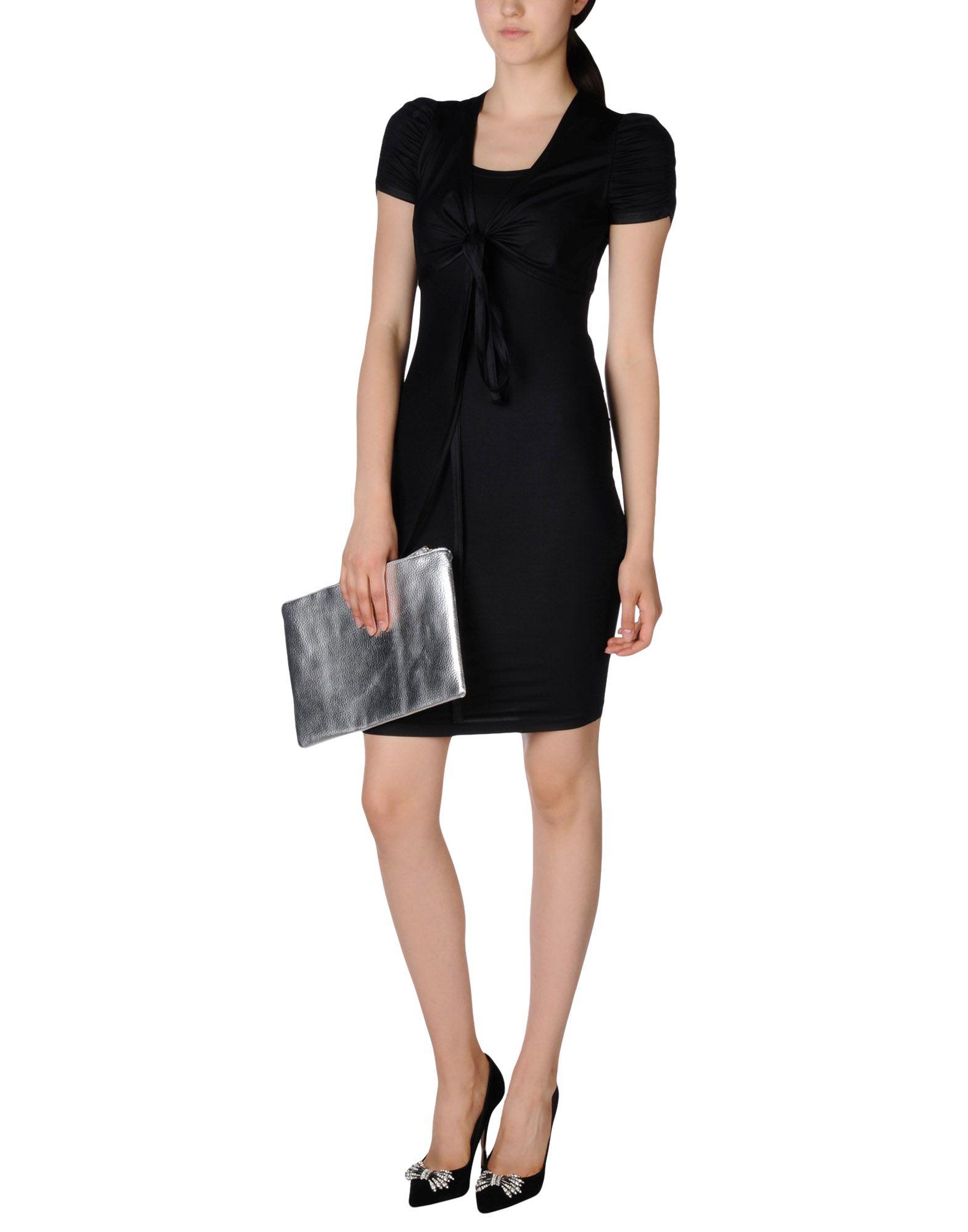 moschino dress in black lyst