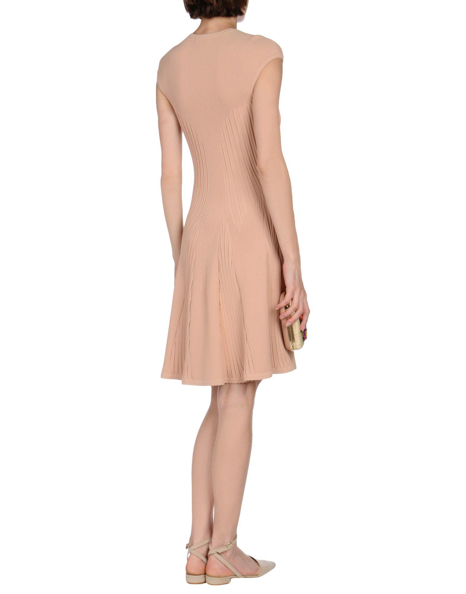 Alexander McQueen Short Dress - Lyst