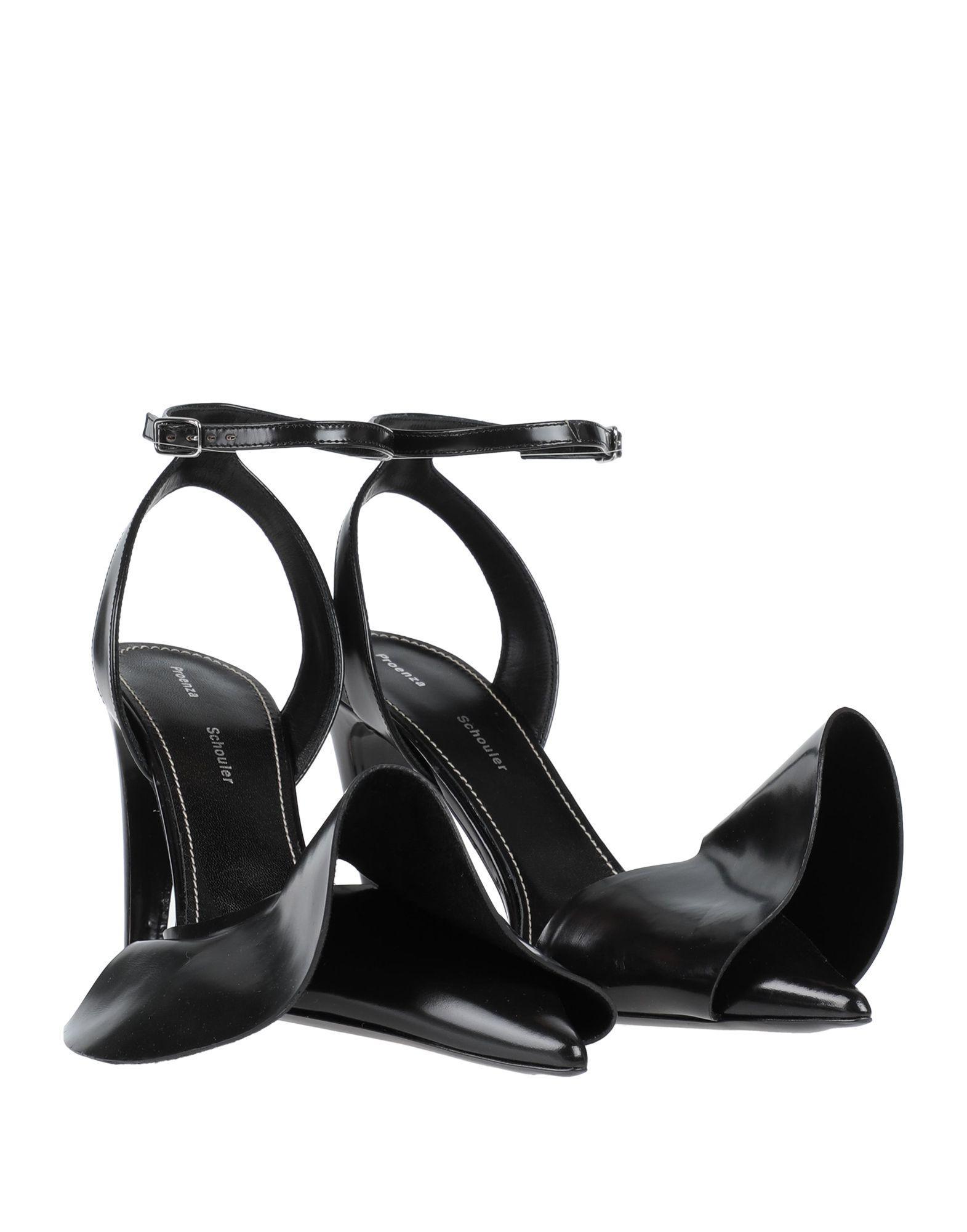 Zapatos de salón Proenza Schouler de Cuero de color Negro