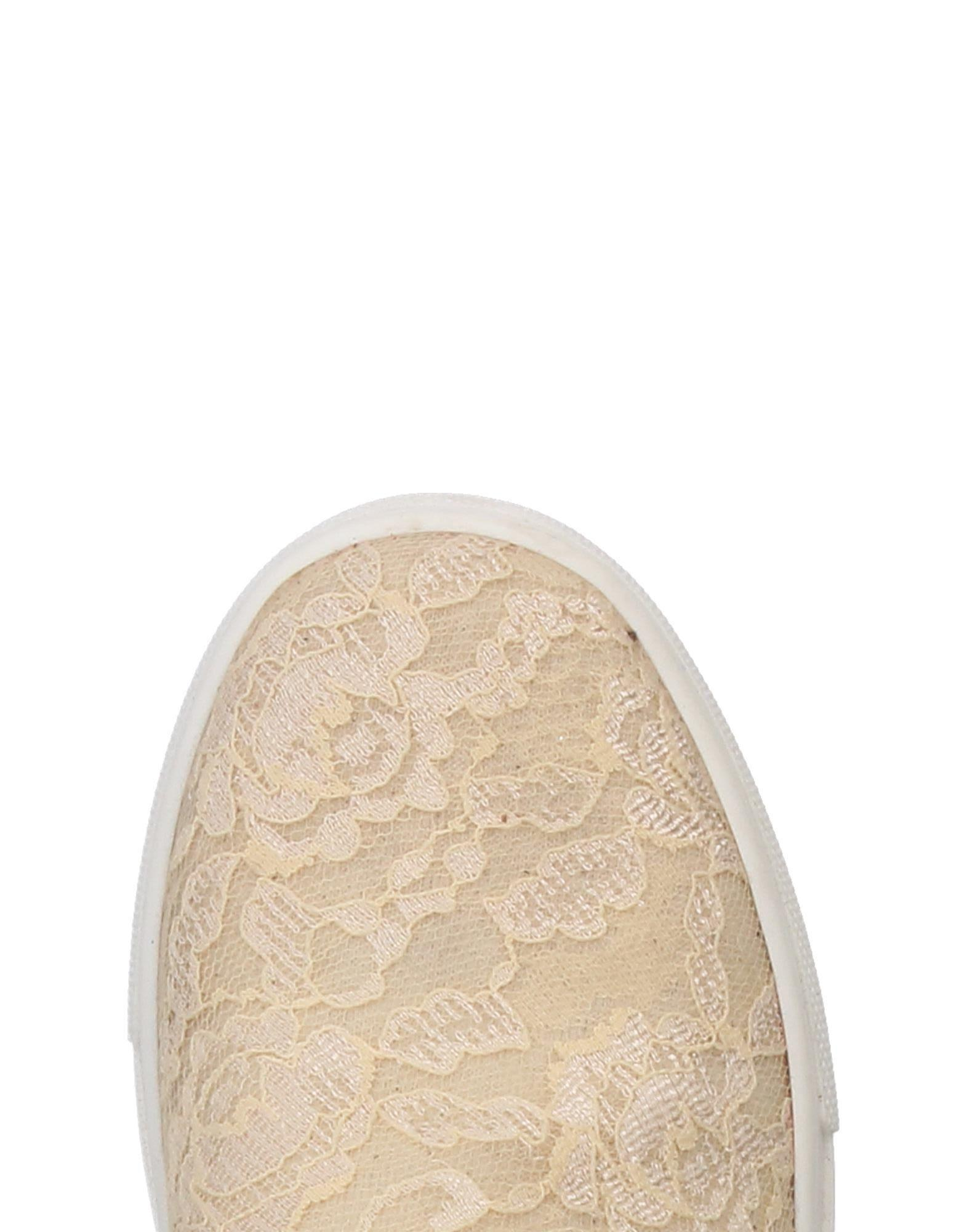 Albano Lace Low-tops & Sneakers in Ivory (White)