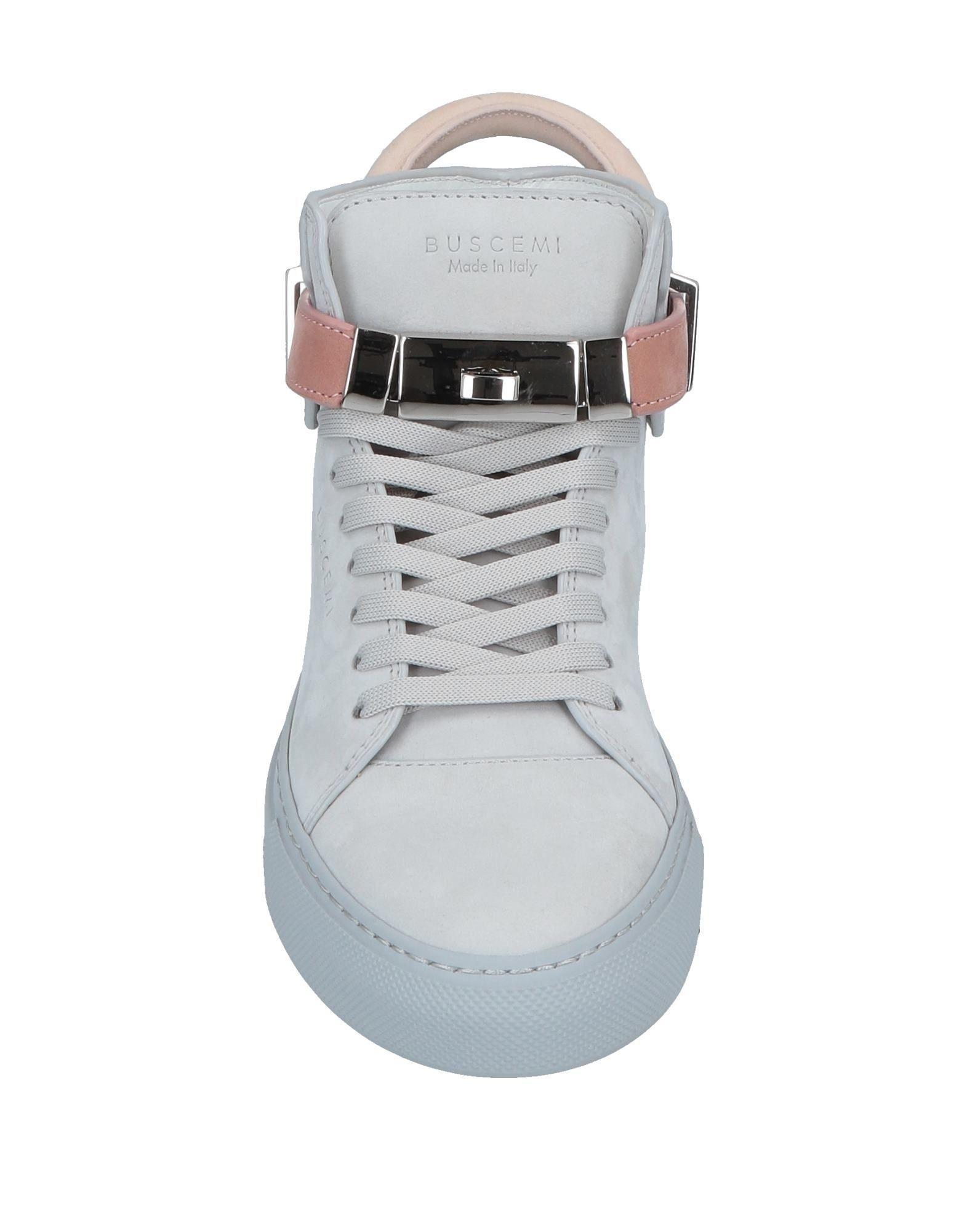 Sneakers abotinadas Buscemi de Cuero de color Gris