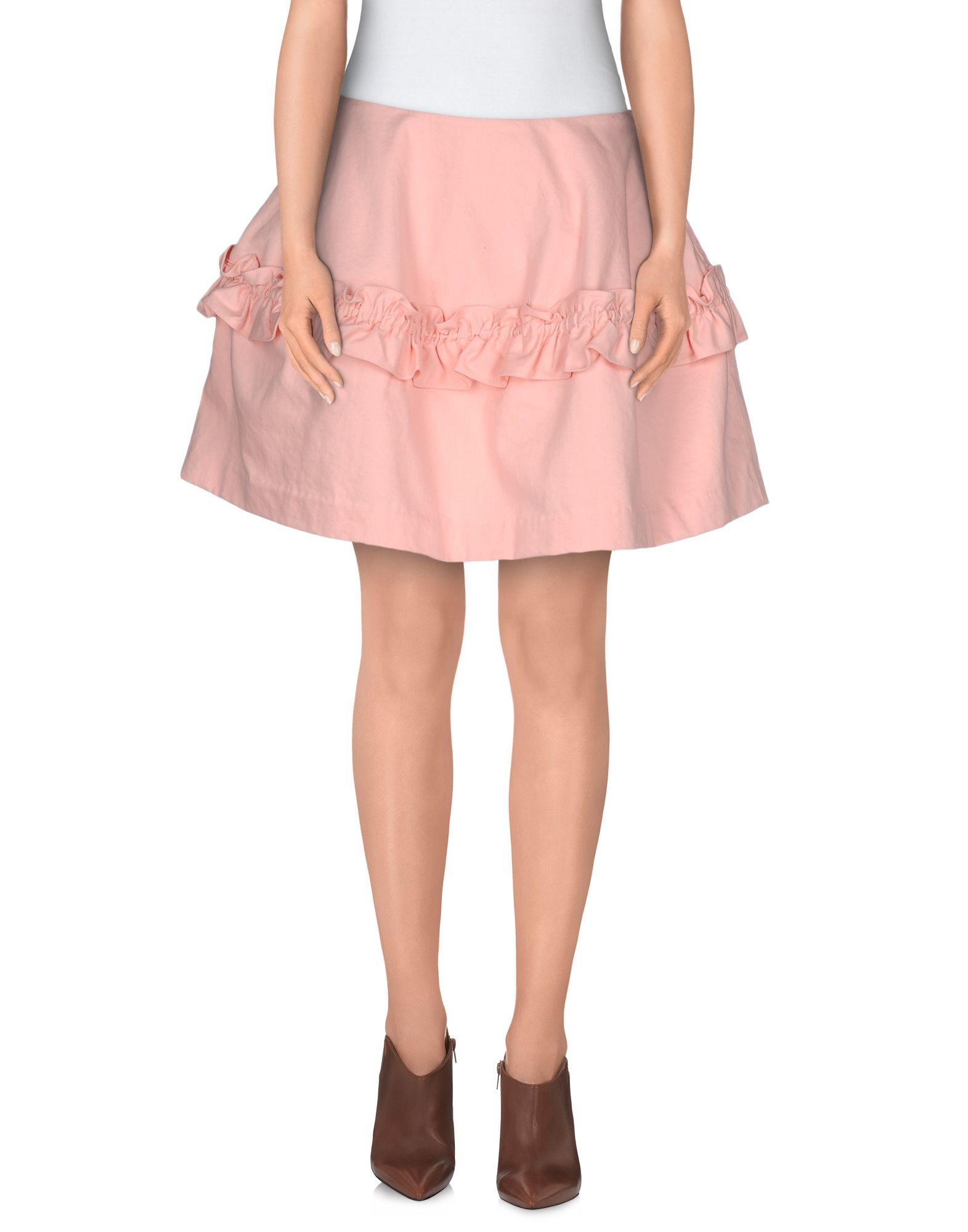 Pink Denim Skirt 88