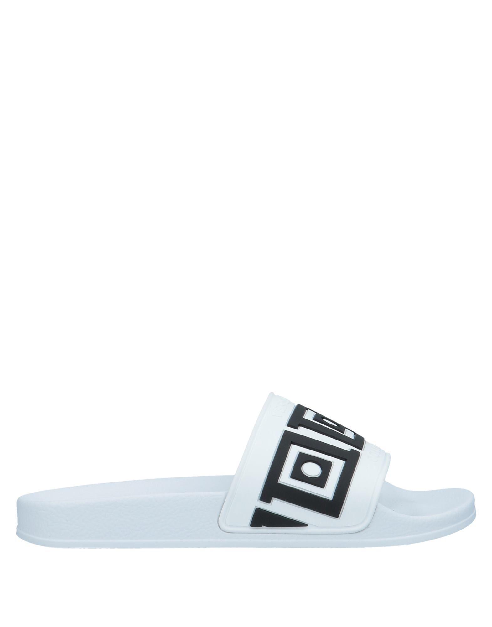 Color Versace Sandalias Blanco Lyst Hombre De Acq4L5j3R