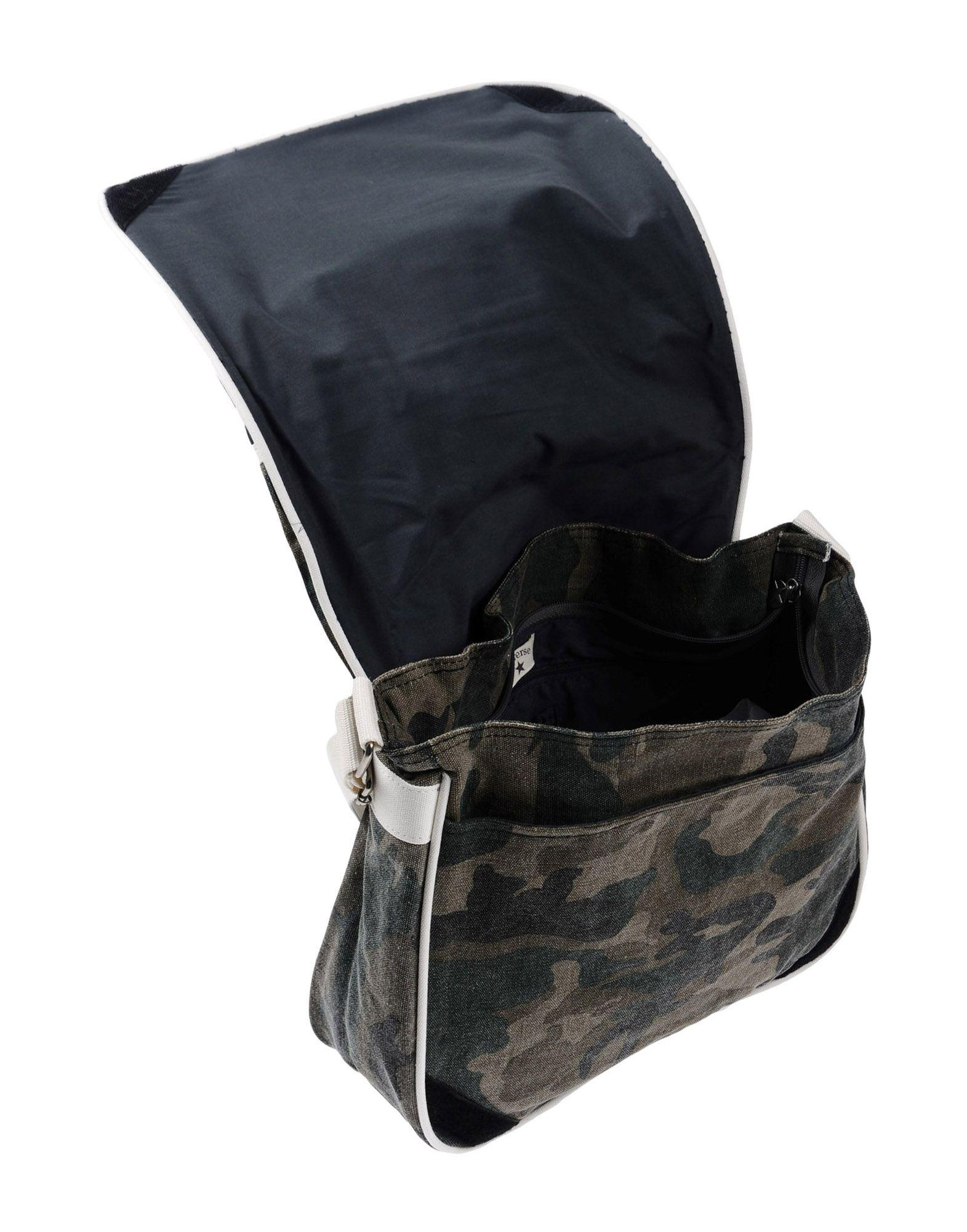 Converse Canvas Cross-body Bag in Military Green (Black)