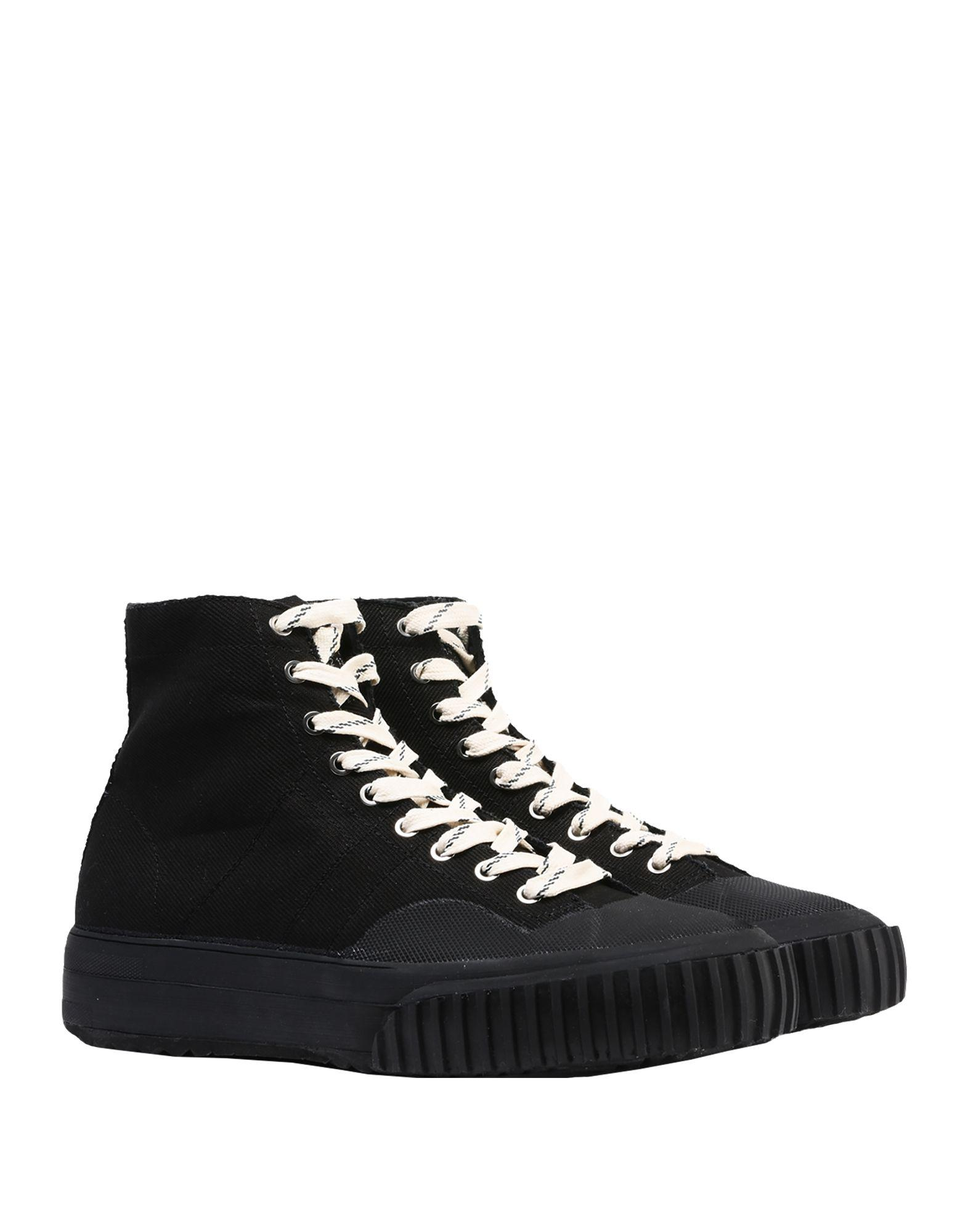 Sneakers abotinadas Maison Margiela de Cuero de color Negro para hombre