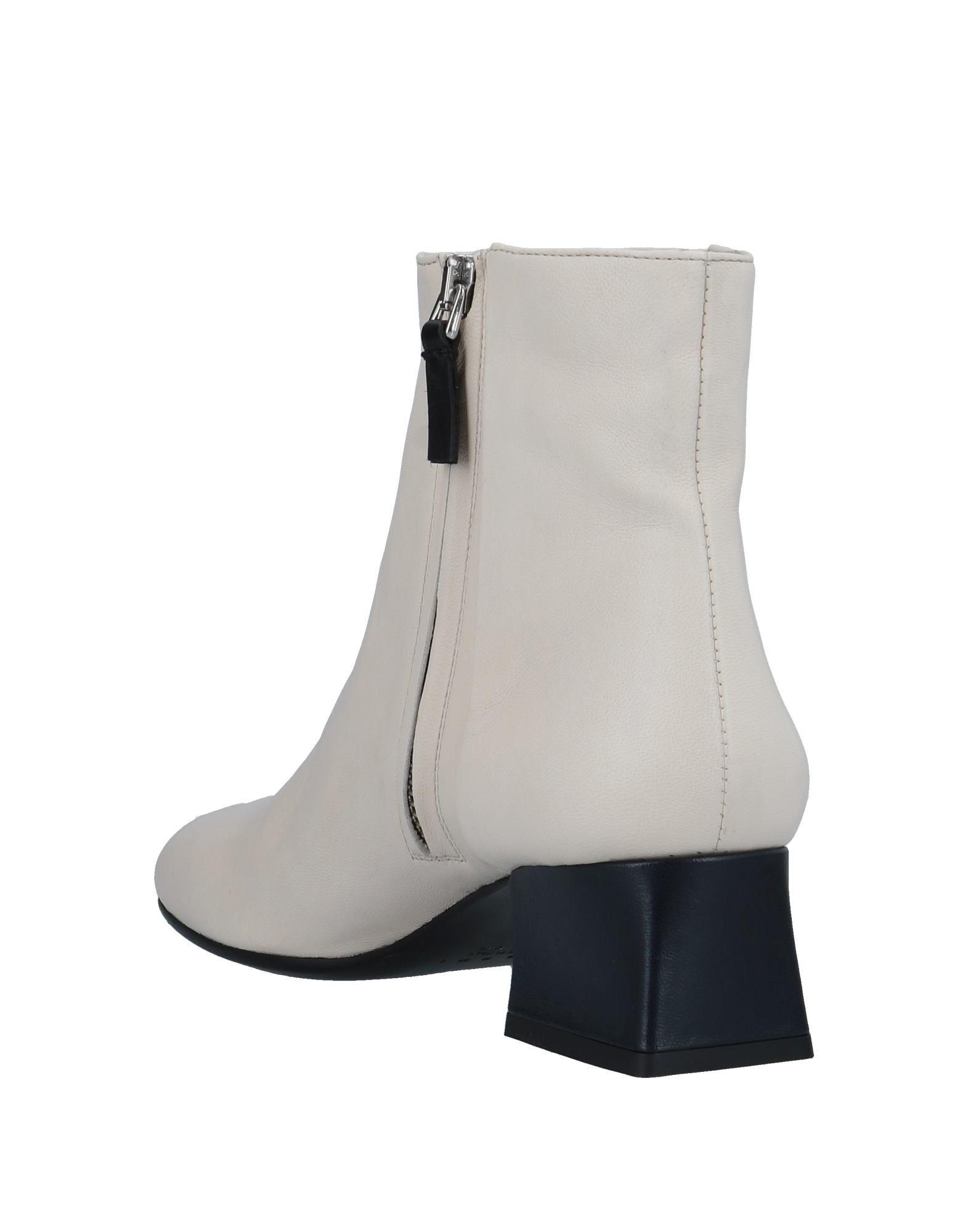 Marni Leather Ankle Boots in Ivory (White)