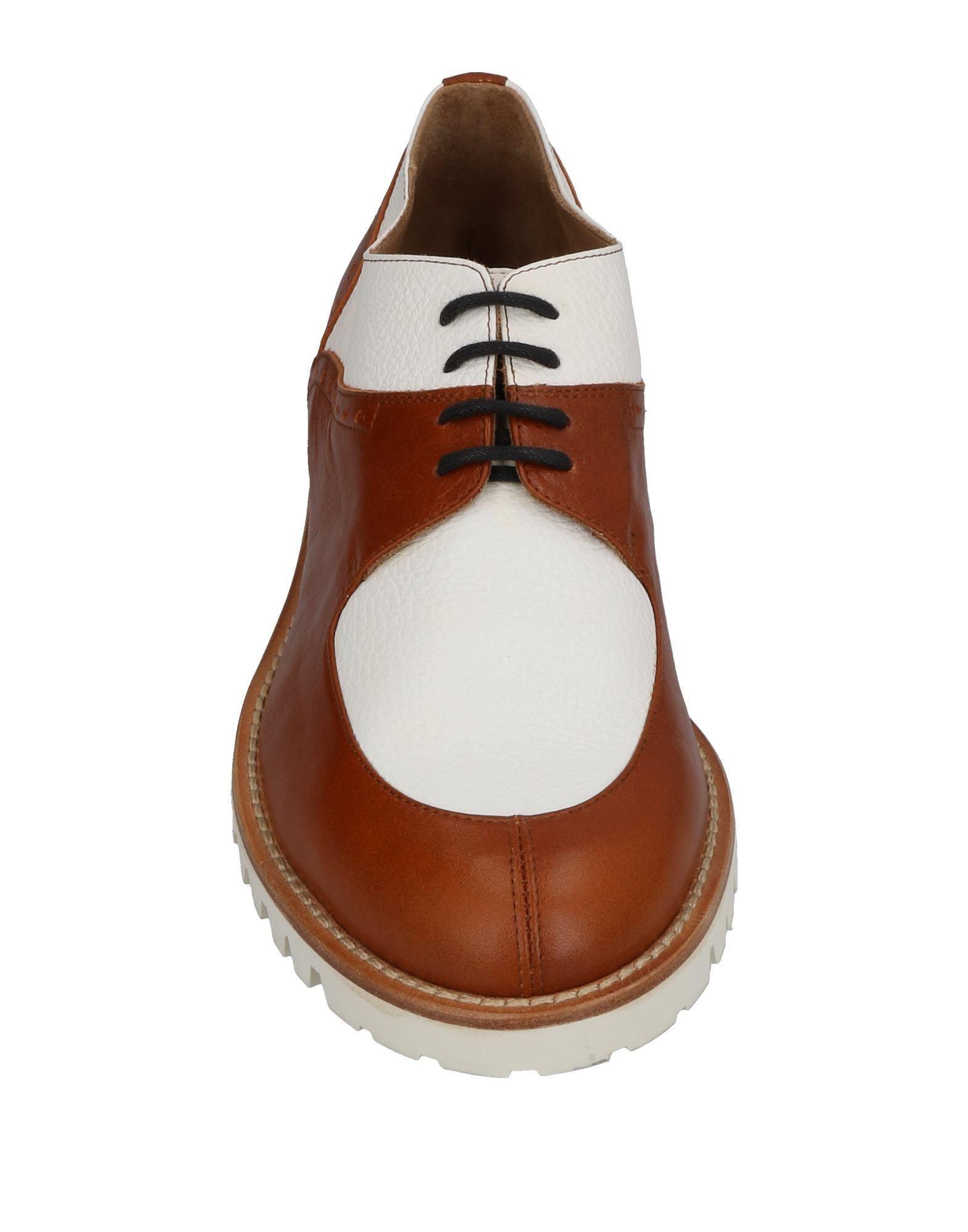 L'f Shoes Leather Lace-up Shoe in Brown for Men