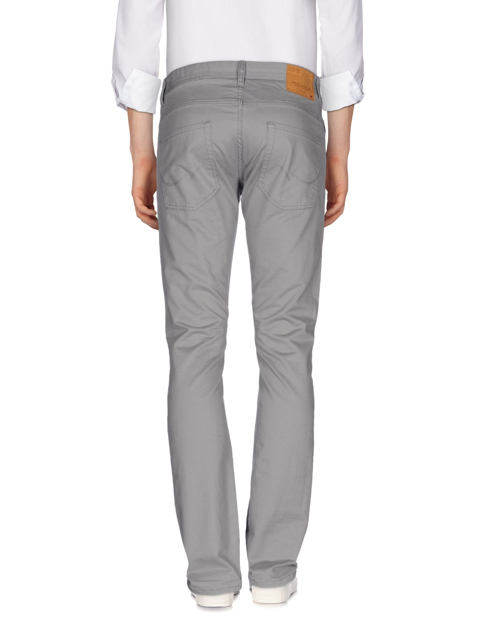 Originals By Jack & Jones Cotton Casual Pants in Grey (Grey) for Men