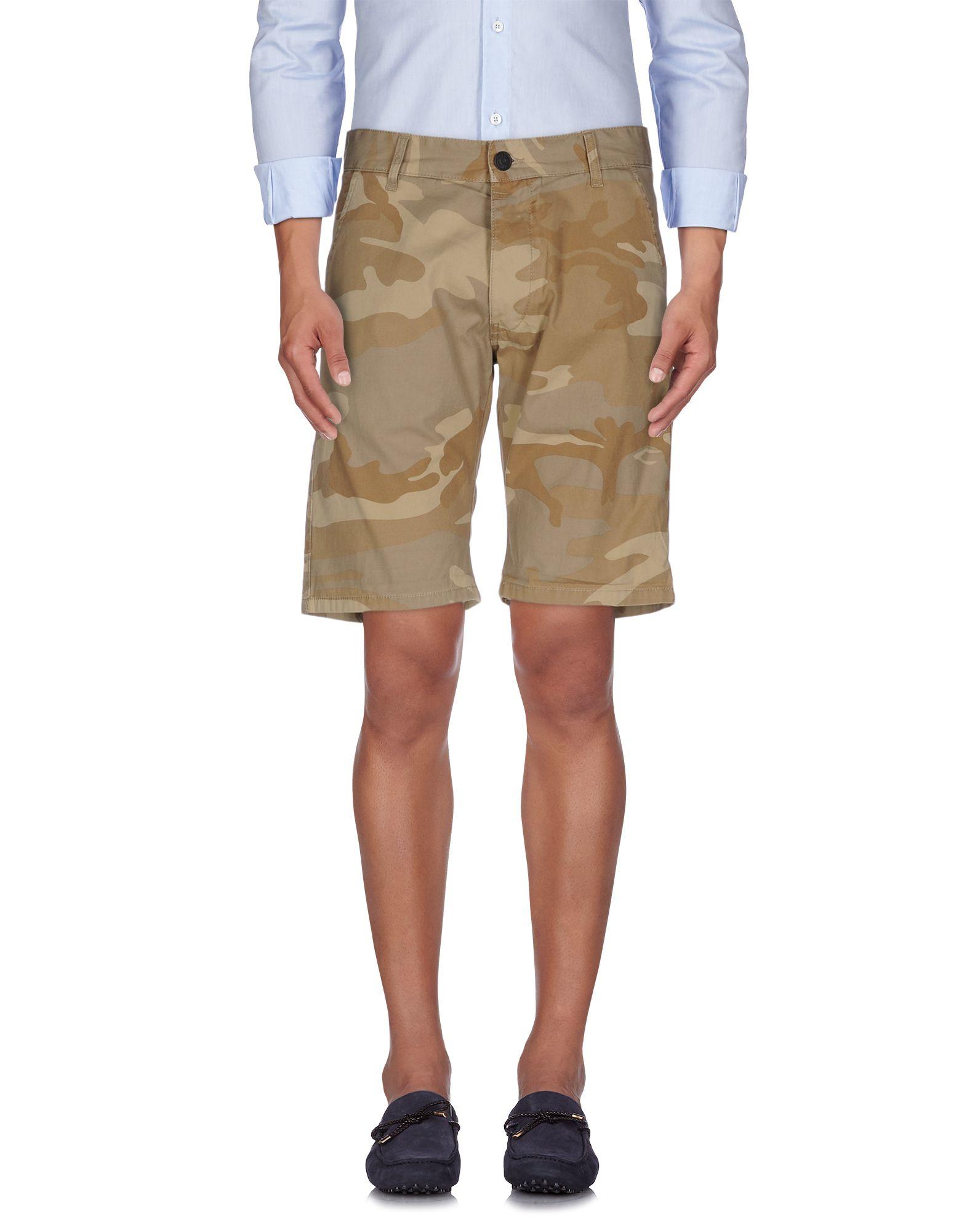 originals by jack jones shorts in brown for men khaki lyst. Black Bedroom Furniture Sets. Home Design Ideas