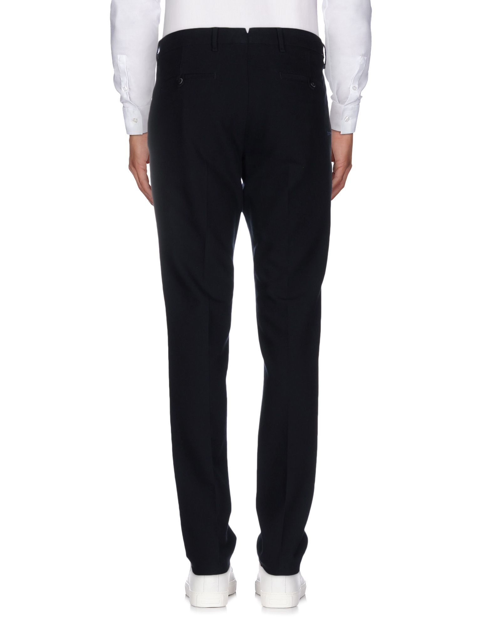 Lardini Cotton Casual Trouser in Dark Blue (Blue) for Men