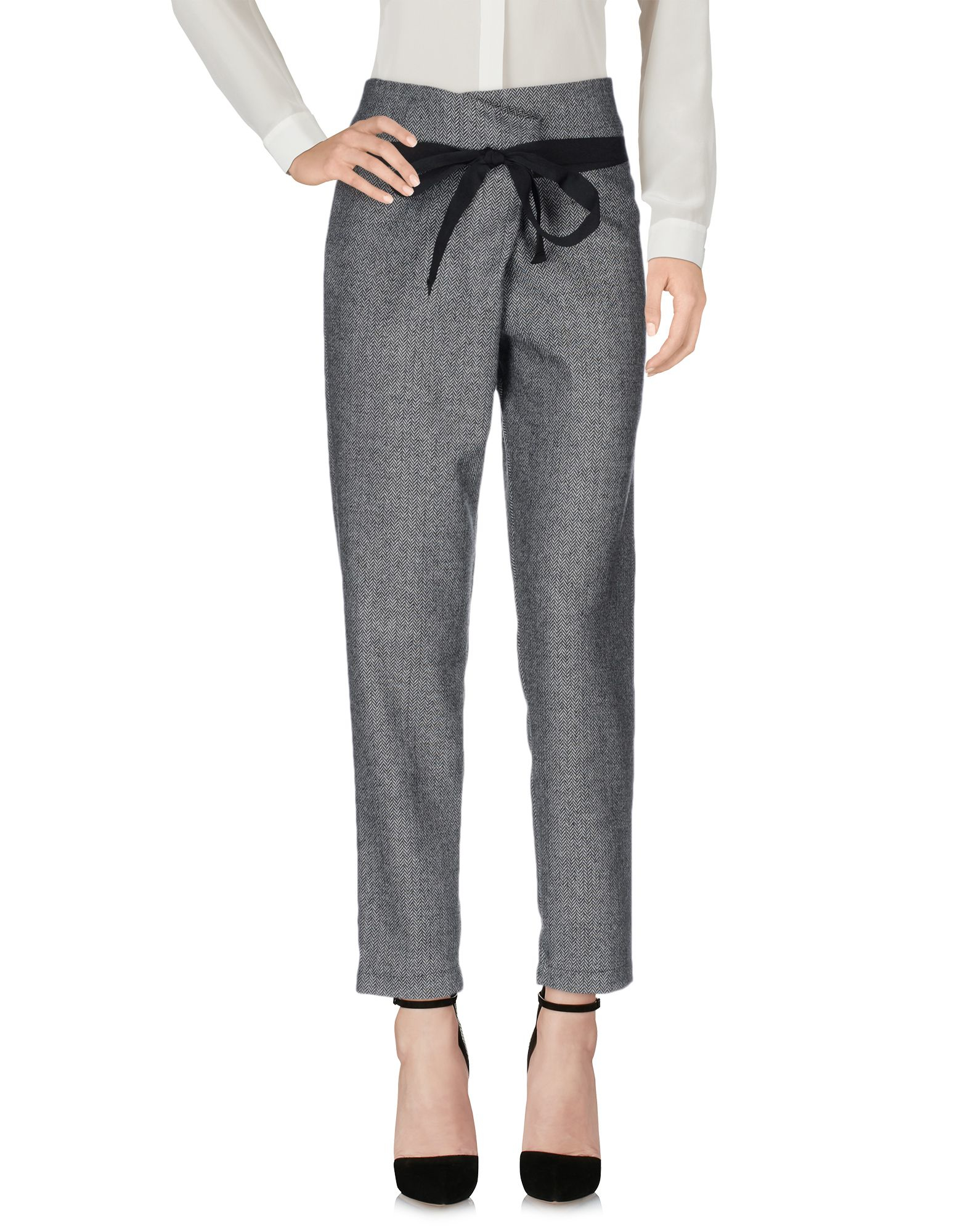 Rolf S Nyc Souvenir Clubbing Casual Trouser In Gray Lyst