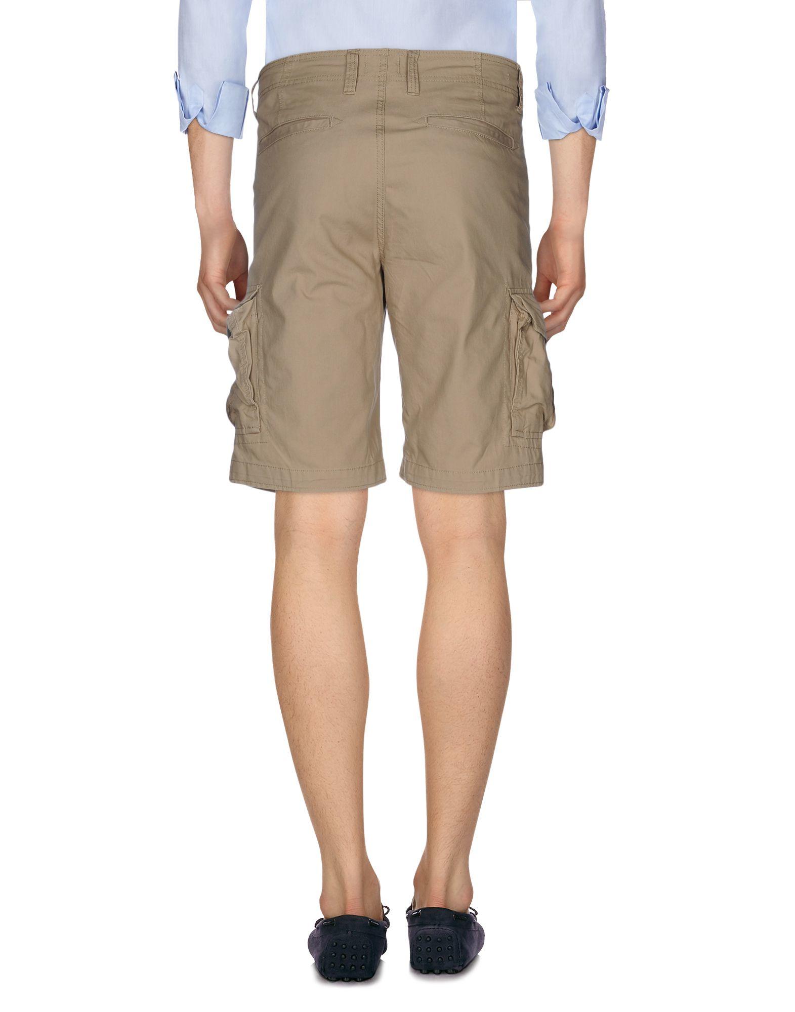 jack jones bermuda shorts in brown for men lyst. Black Bedroom Furniture Sets. Home Design Ideas