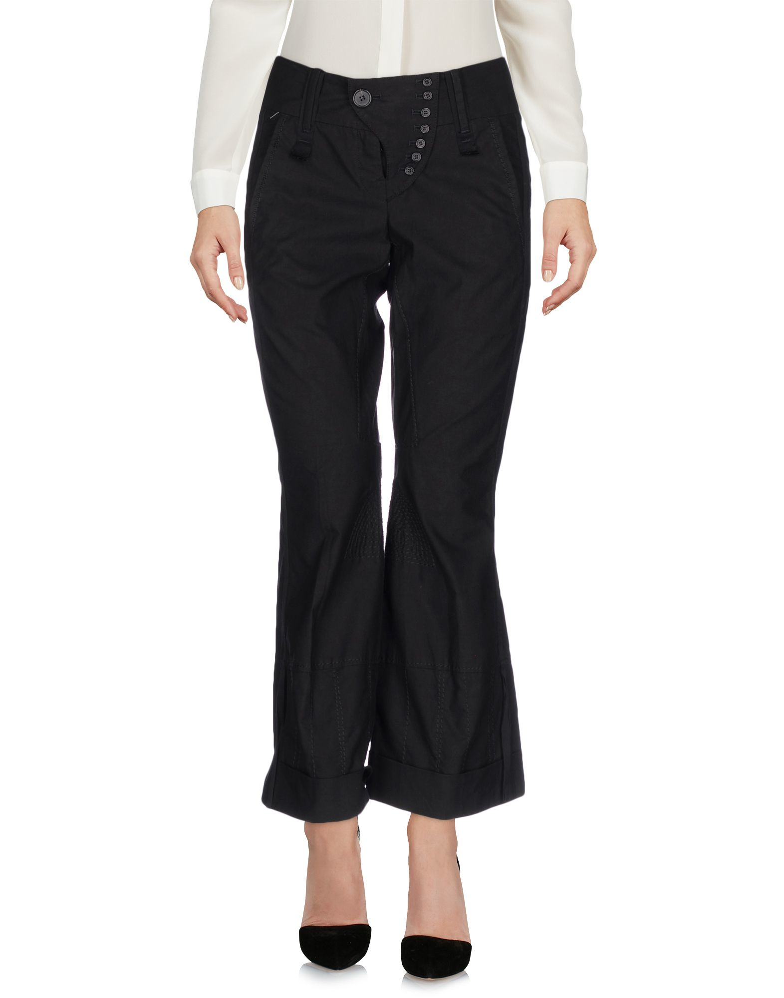 marith et fran ois girbaud casual pants in black lyst. Black Bedroom Furniture Sets. Home Design Ideas