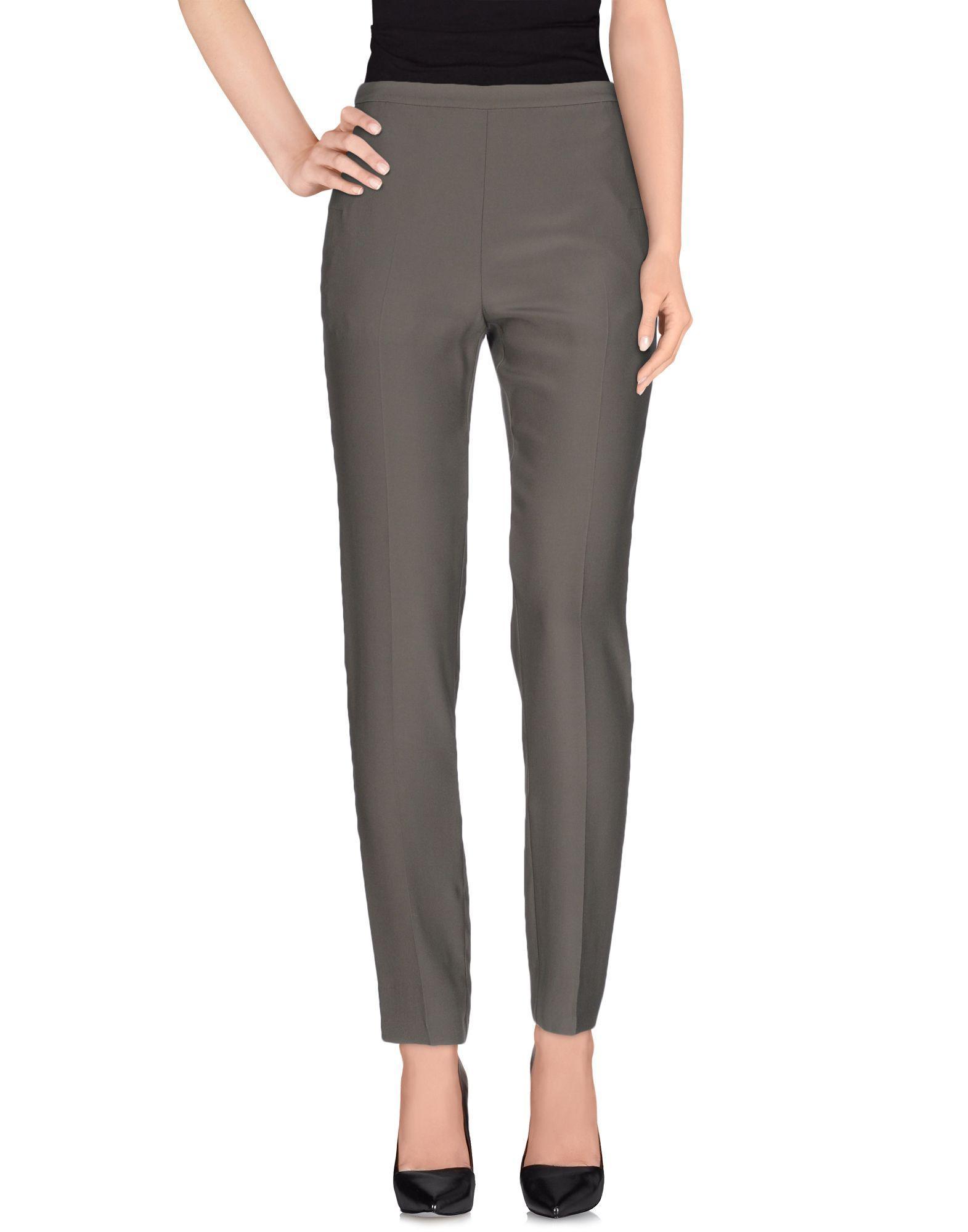 Maison margiela casual trouser in gray lyst for 10 moulmein rise la maison