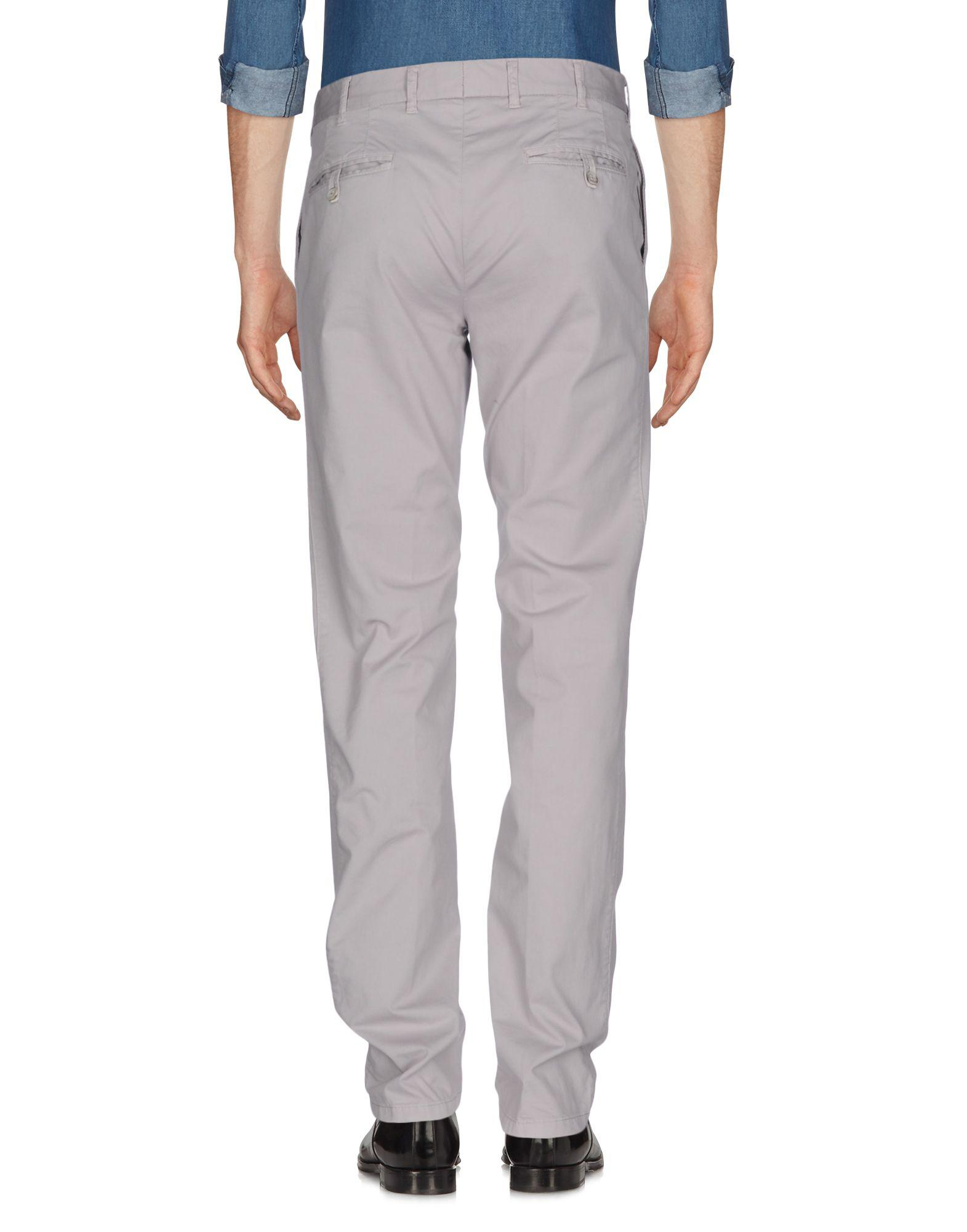 L.B.M. 1911 Cotton Casual Pants in Grey for Men