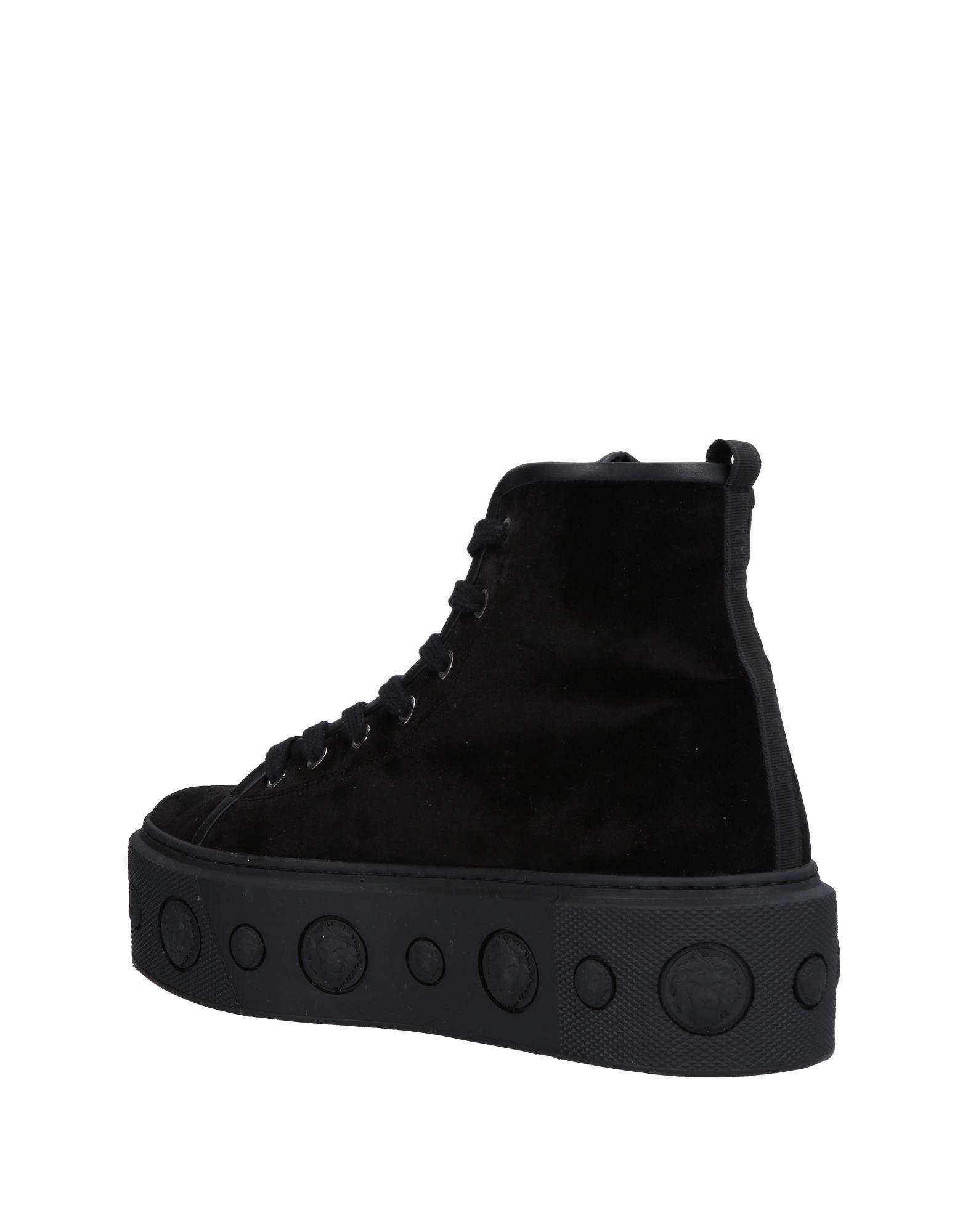 Versus Velvet High-tops & Sneakers in Black