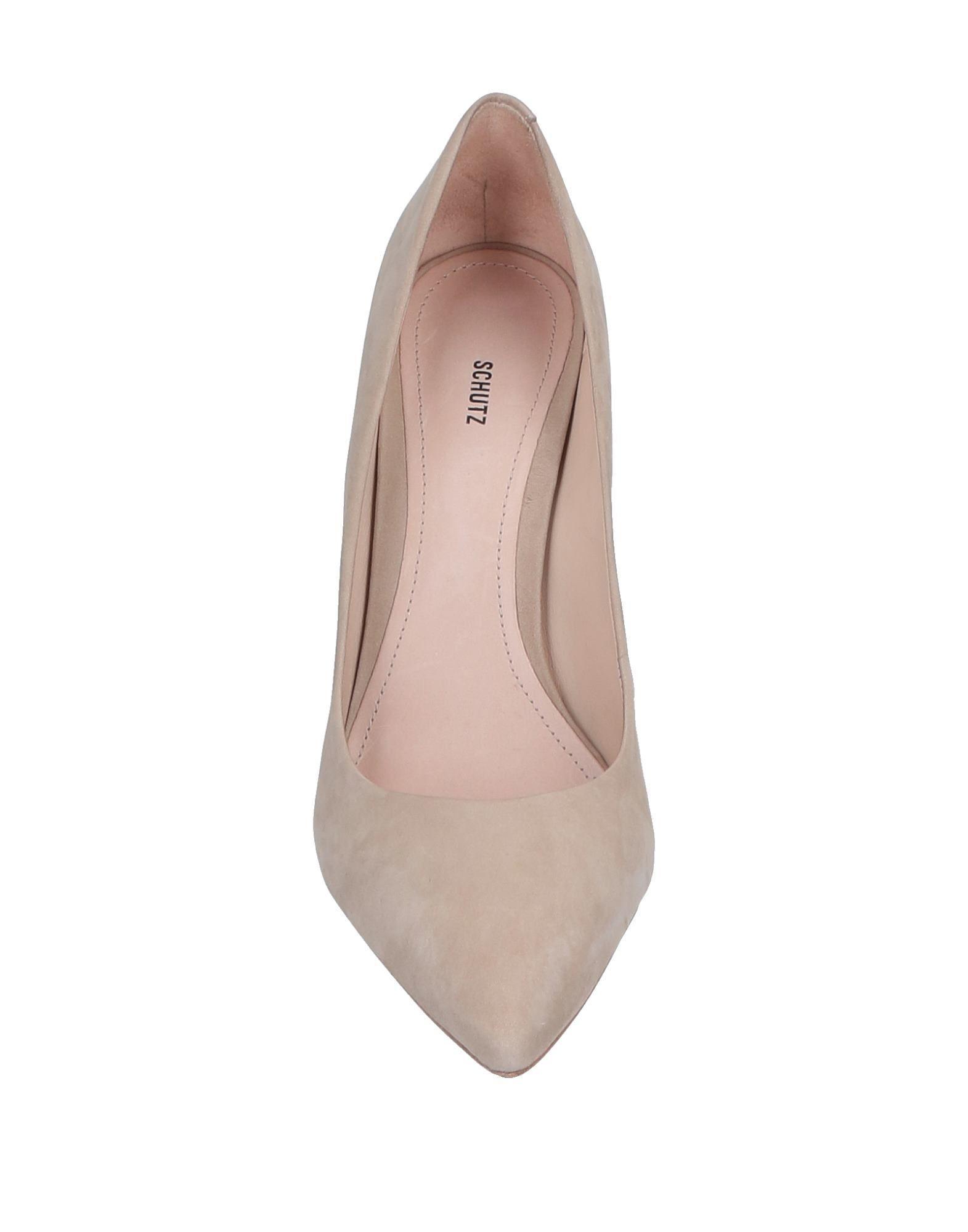 Zapatos de salón Schutz de Cuero de color Neutro