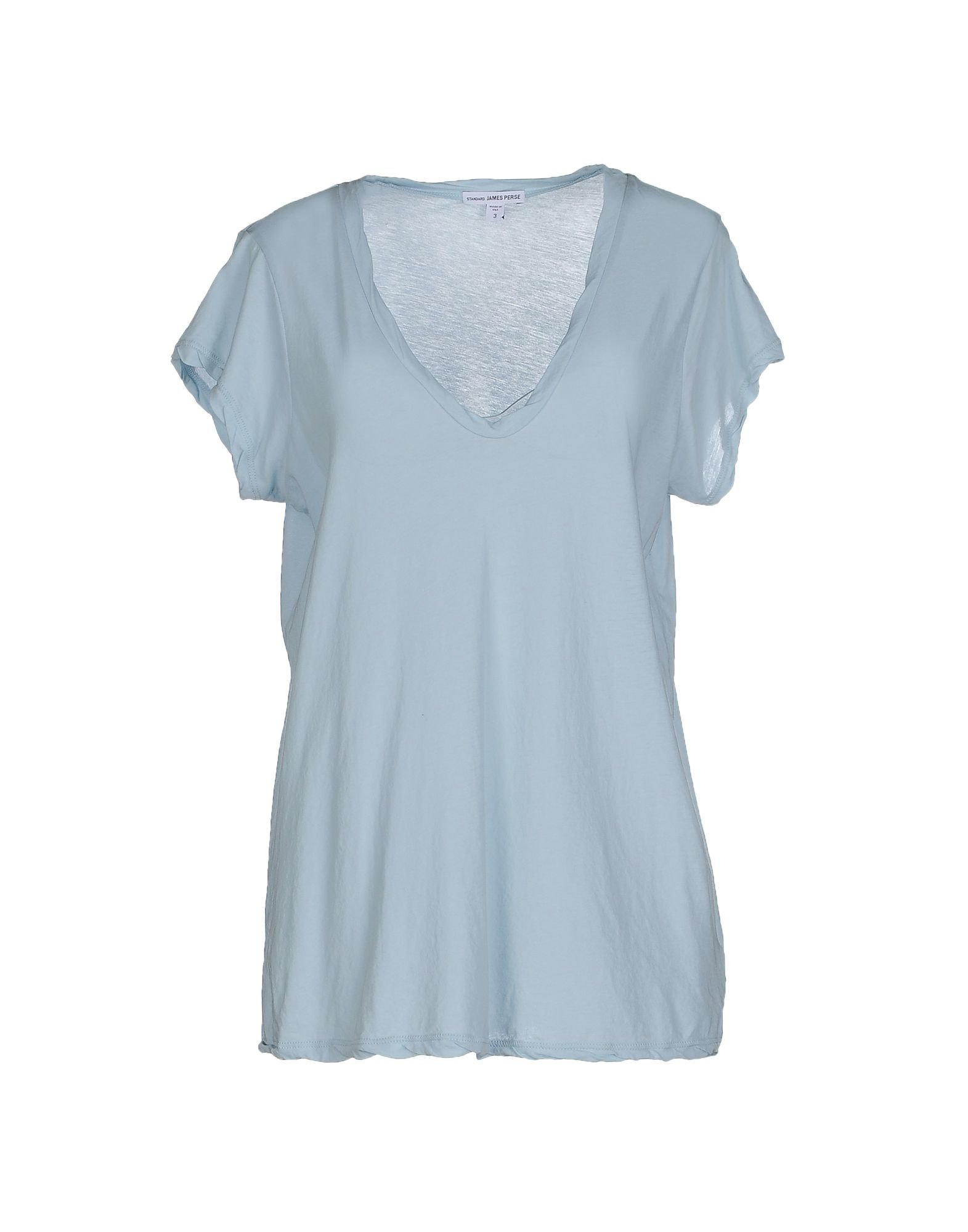 James perse t shirt in blue sky blue lyst for James perse t shirts sale