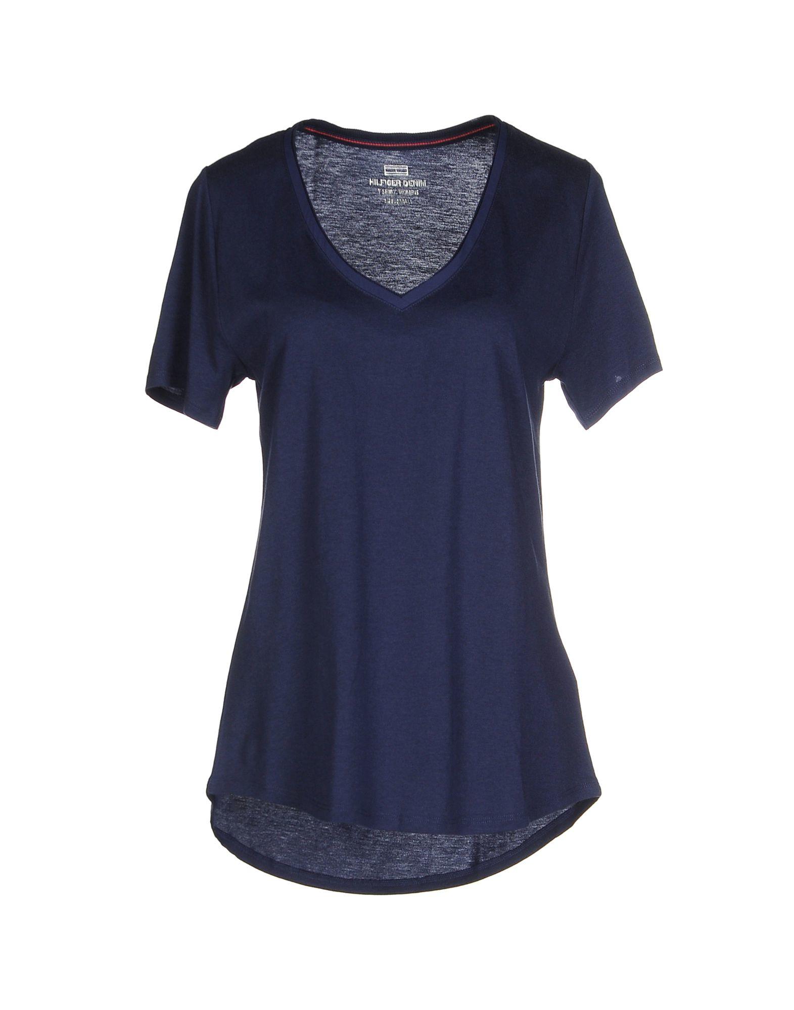 hilfiger denim t shirt in blue lyst. Black Bedroom Furniture Sets. Home Design Ideas