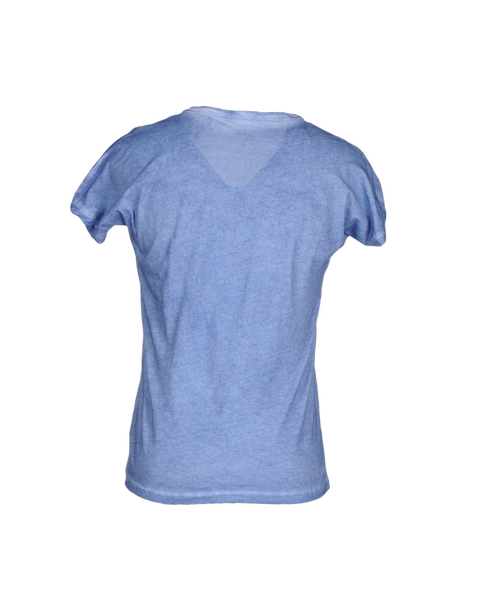 pepe jeans t shirt in blue for men slate blue lyst. Black Bedroom Furniture Sets. Home Design Ideas