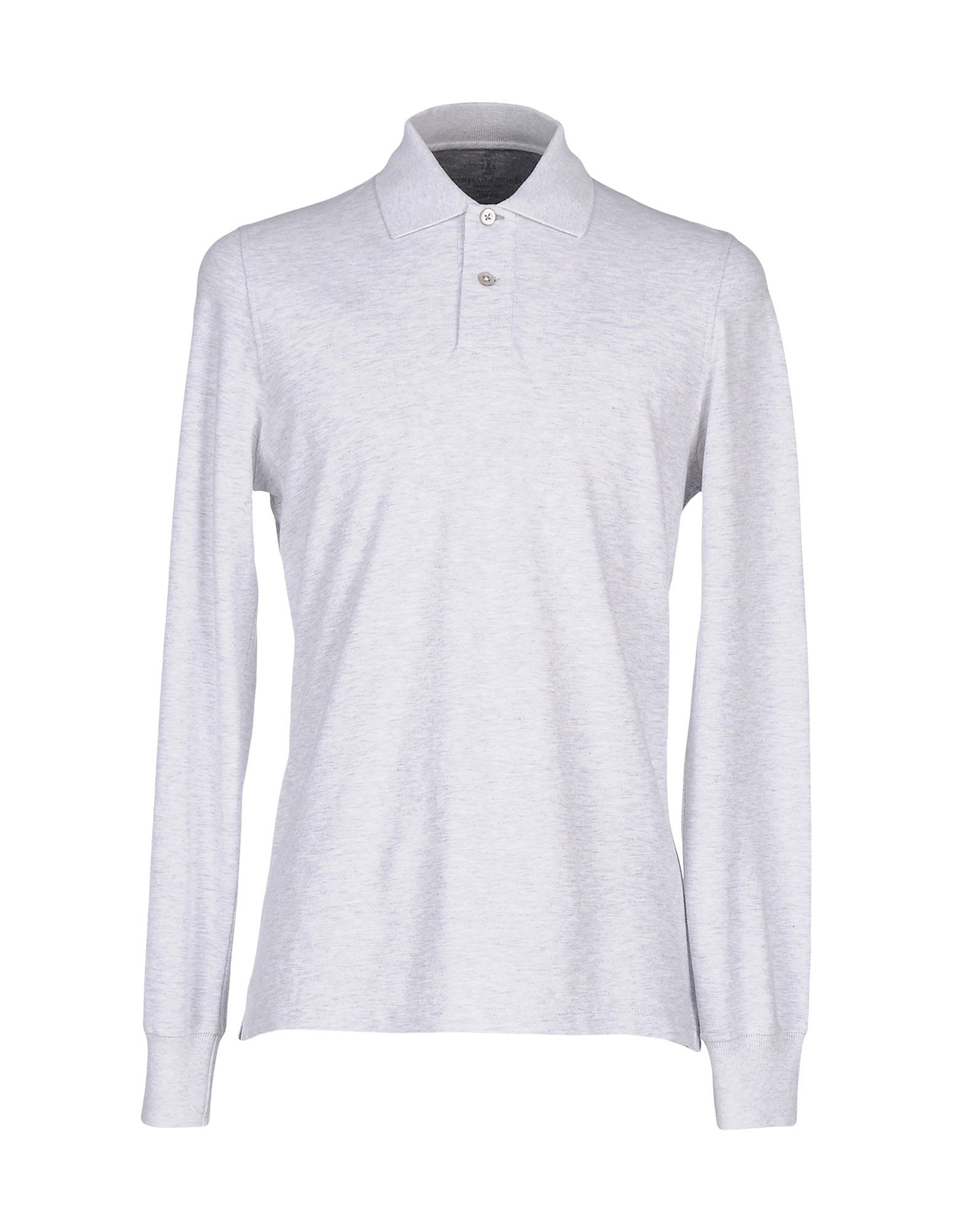 Lyst brunello cucinelli polo shirt in gray for men for 20 34 35 dress shirts