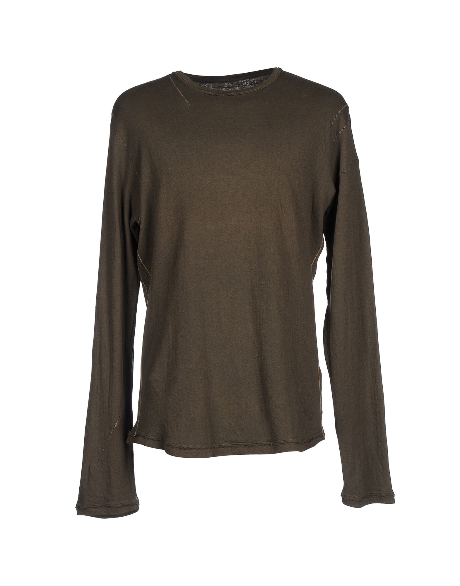 marithe et francois girbaud t shirt in green for men military green lyst. Black Bedroom Furniture Sets. Home Design Ideas