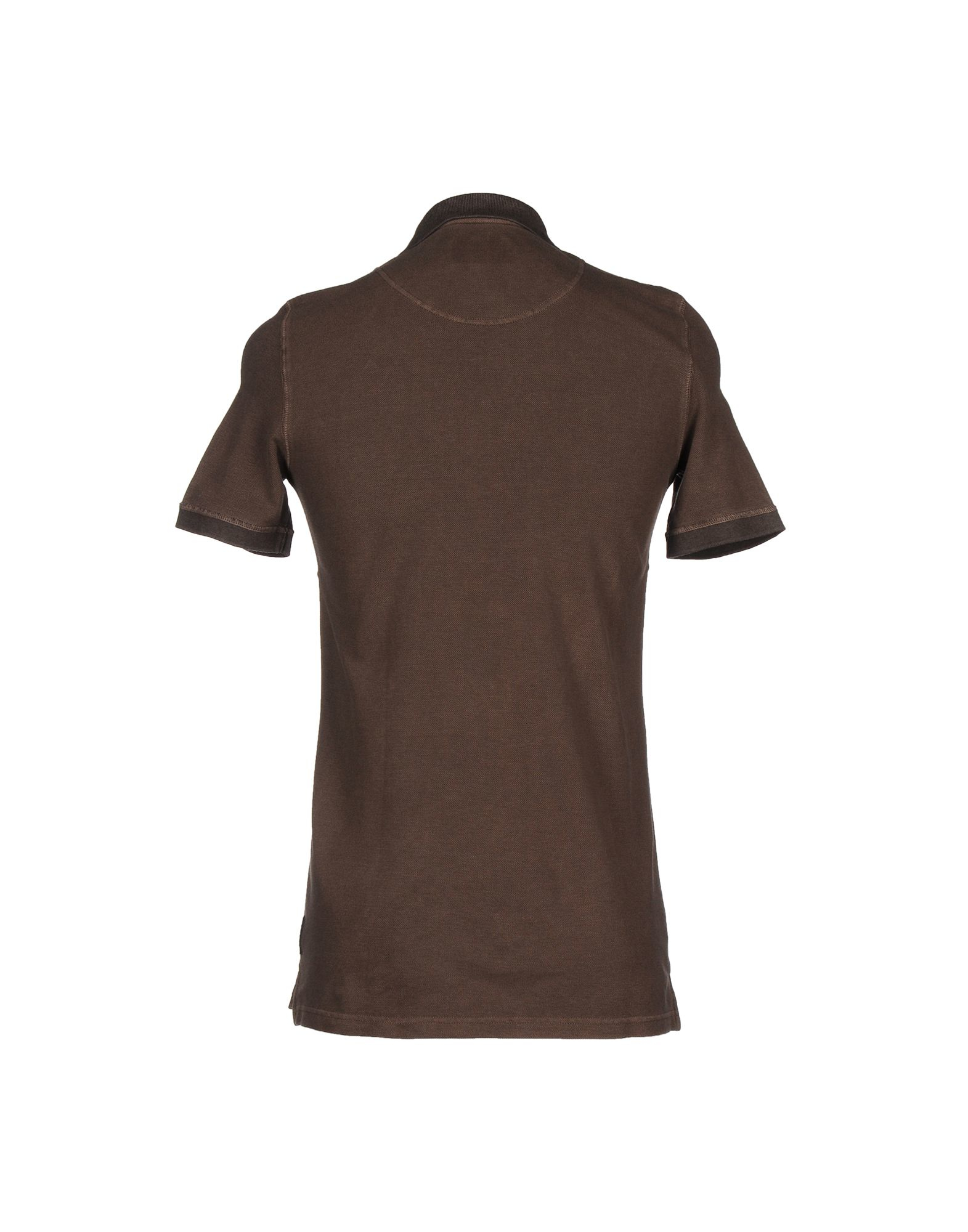 Lyst Armani Jeans Polo Shirt In Brown For Men