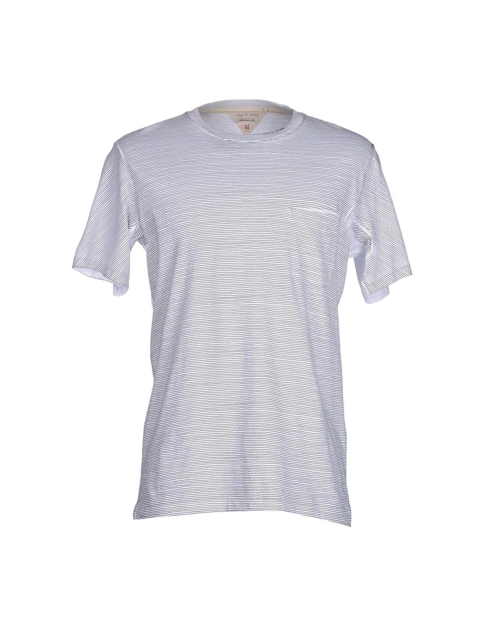 Lyst rag bone t shirt in white for men for Rag and bone white t shirt