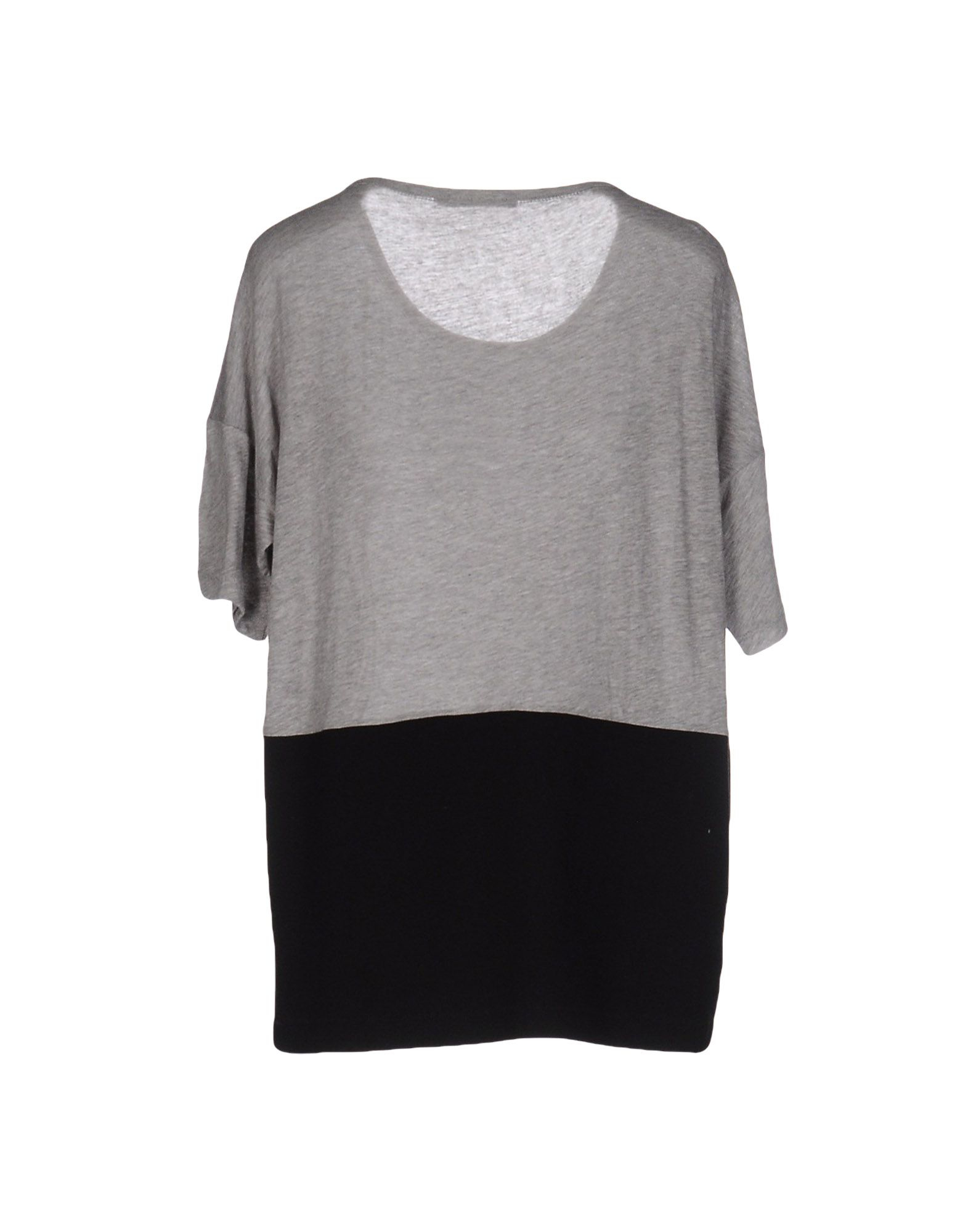 Lyst t by alexander wang t shirt in gray for Alexander wang t shirts