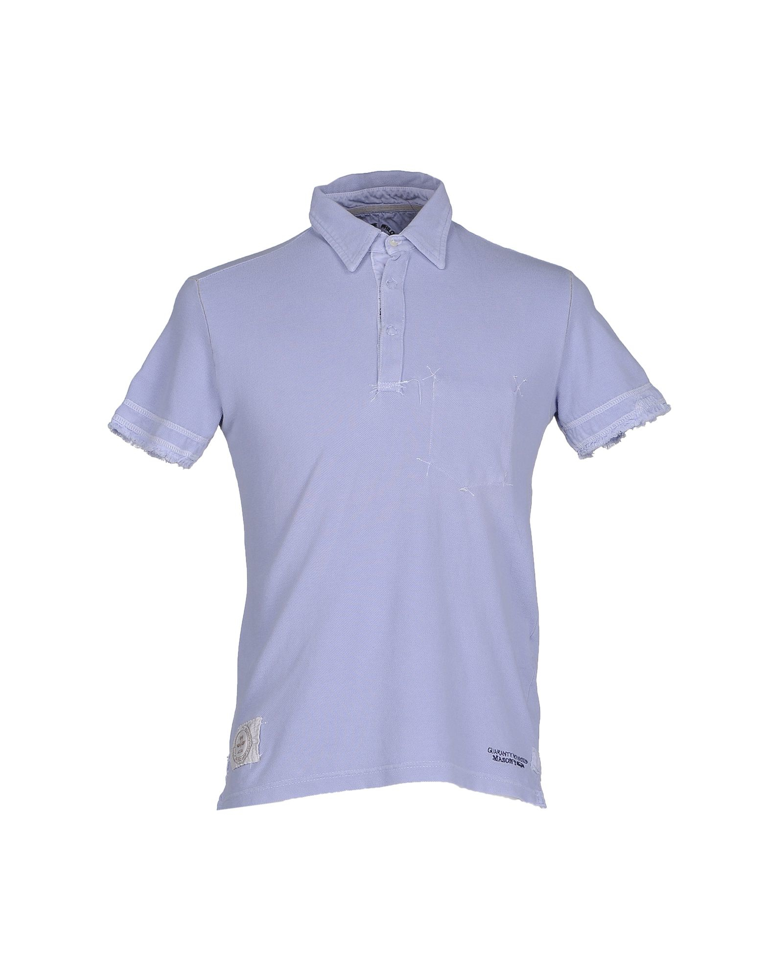 mason 39 s polo shirt in multicolor for men lilac lyst