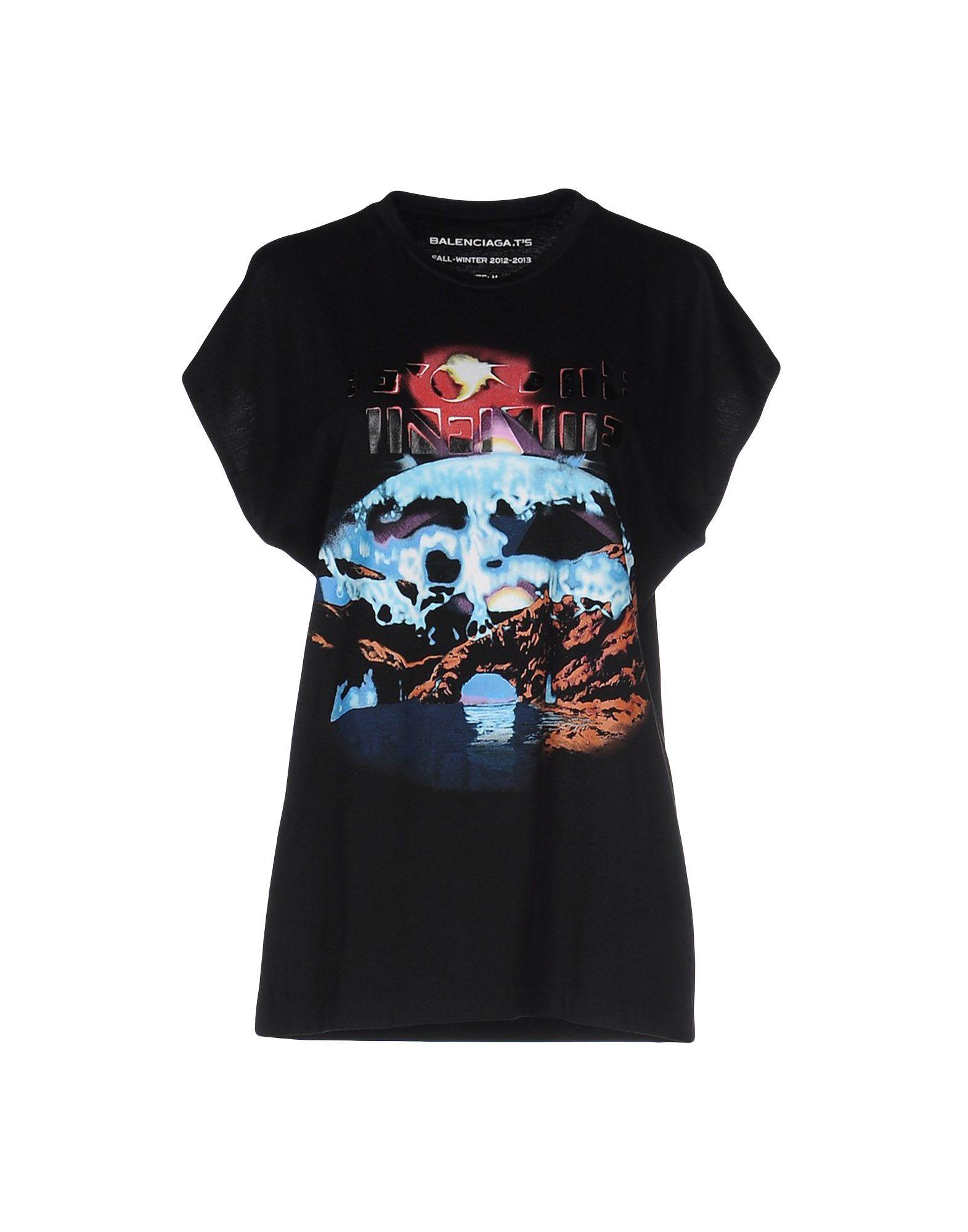 Lyst Balenciaga T Shirt In Black