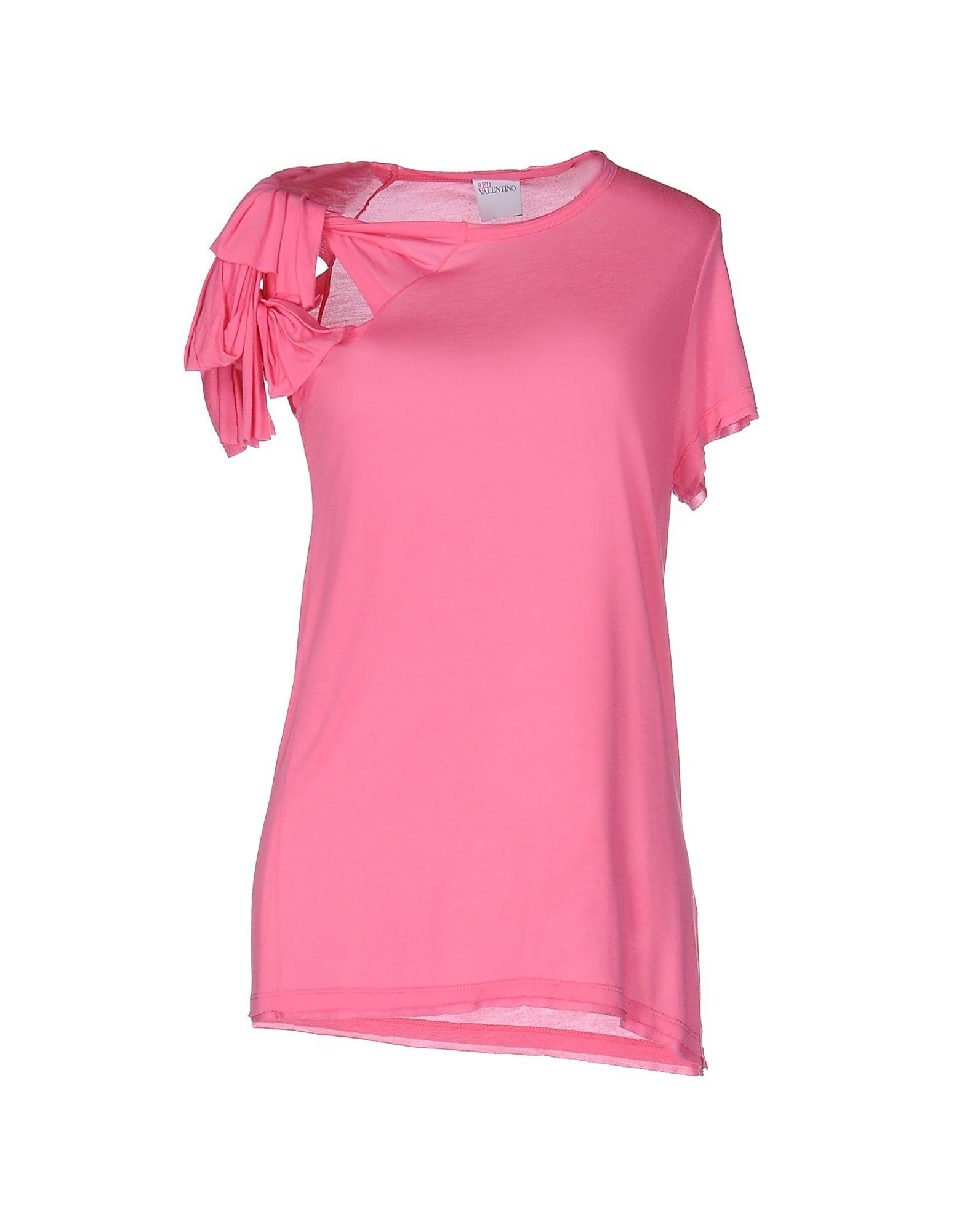 Lyst red valentino t shirt for Red valentino t shirt