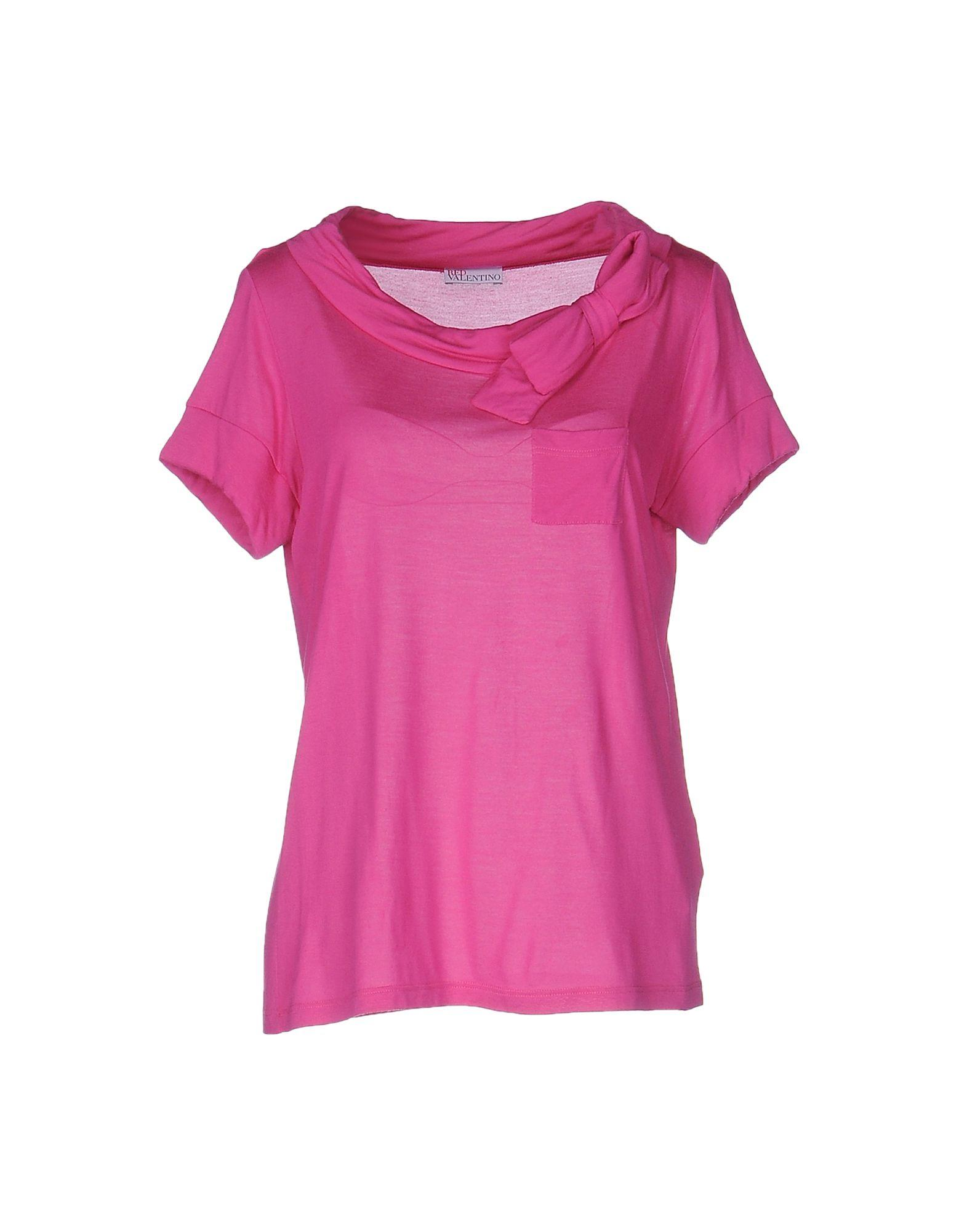 Red valentino t shirt lyst for Red valentino t shirt