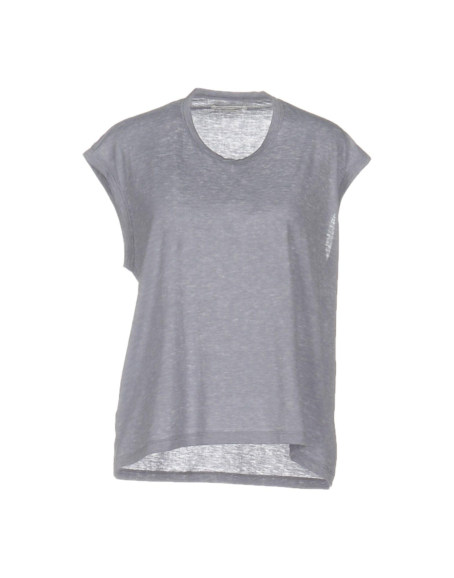 Toile isabel marant t shirt in purple lyst for Isabel marant t shirt sale