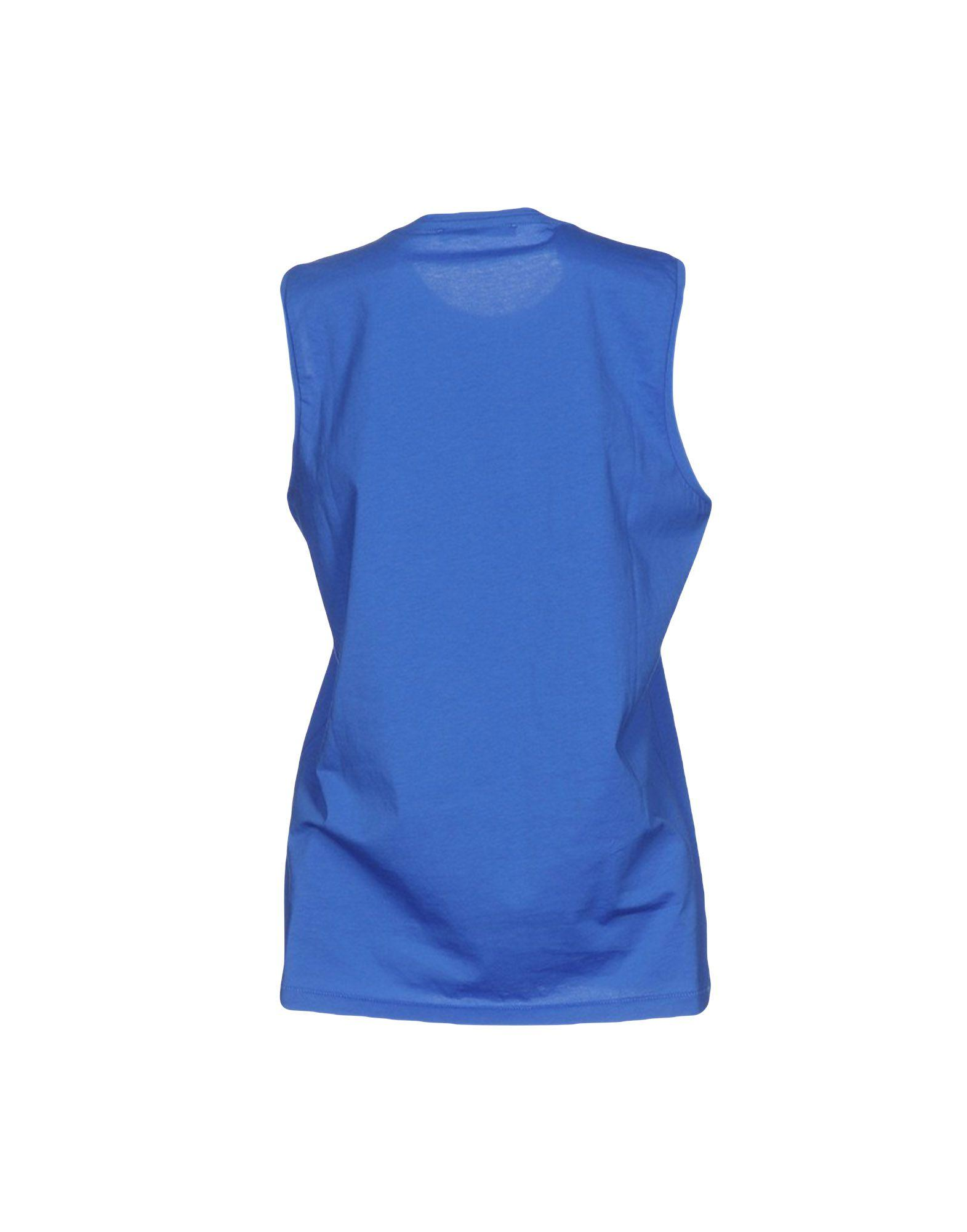 Lyst Acne T Shirt In Blue
