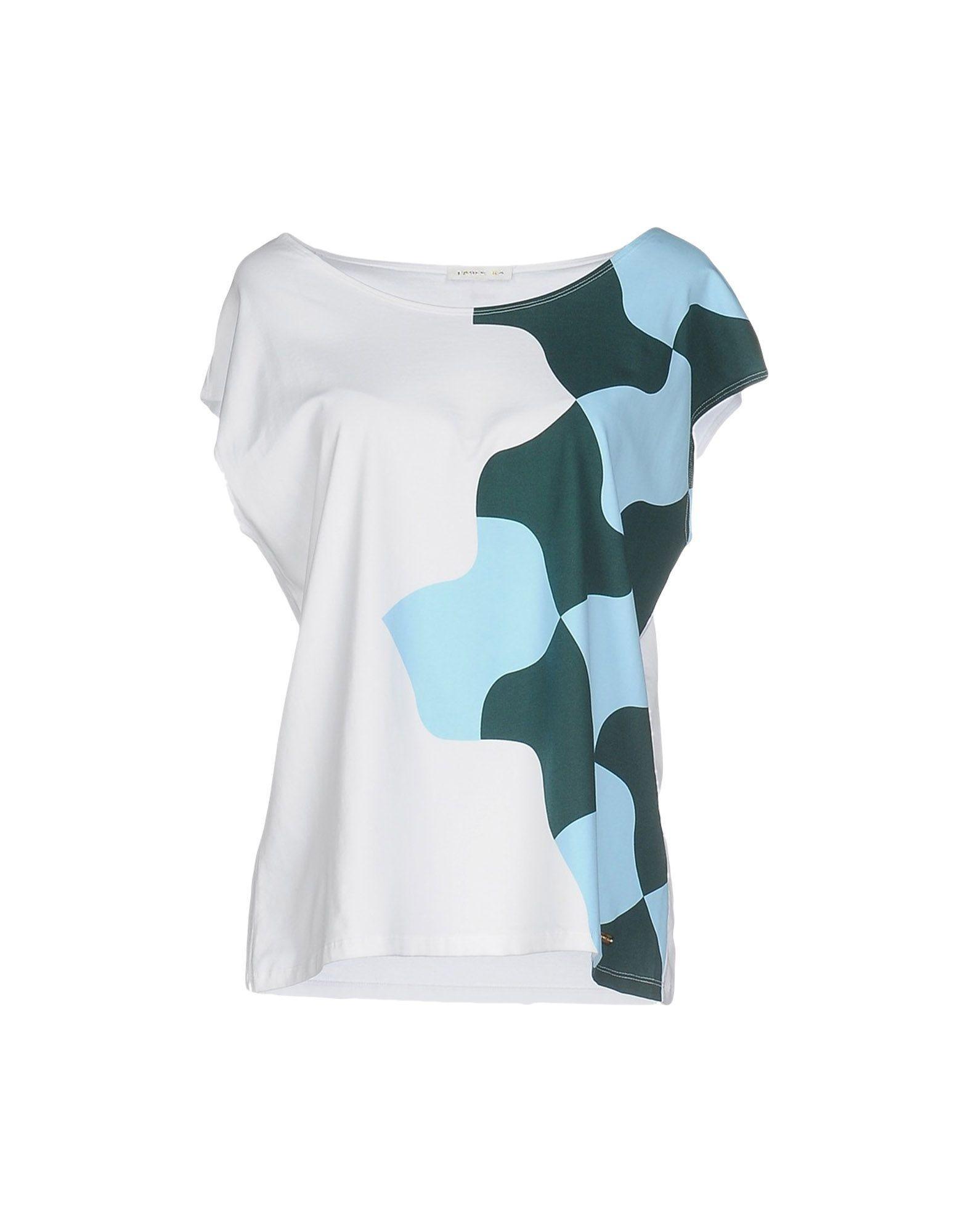 paule ka t shirt in white lyst. Black Bedroom Furniture Sets. Home Design Ideas