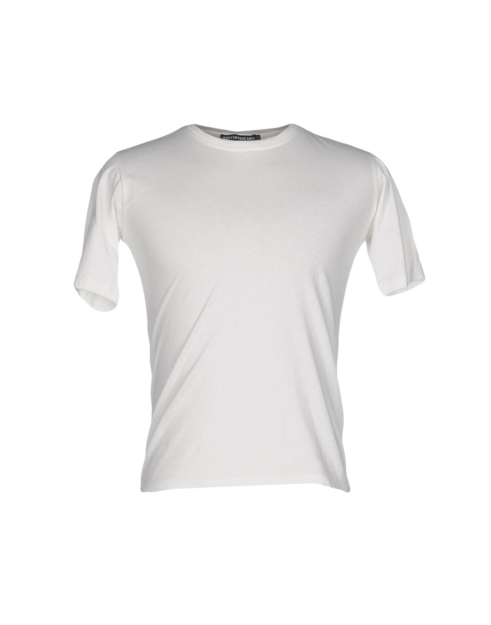 issey miyake t shirt in white for men lyst