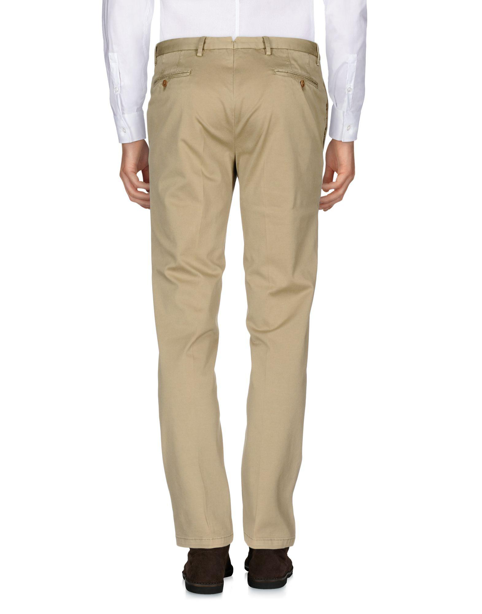 Boglioli Cotton Casual Pants in Beige (Natural) for Men