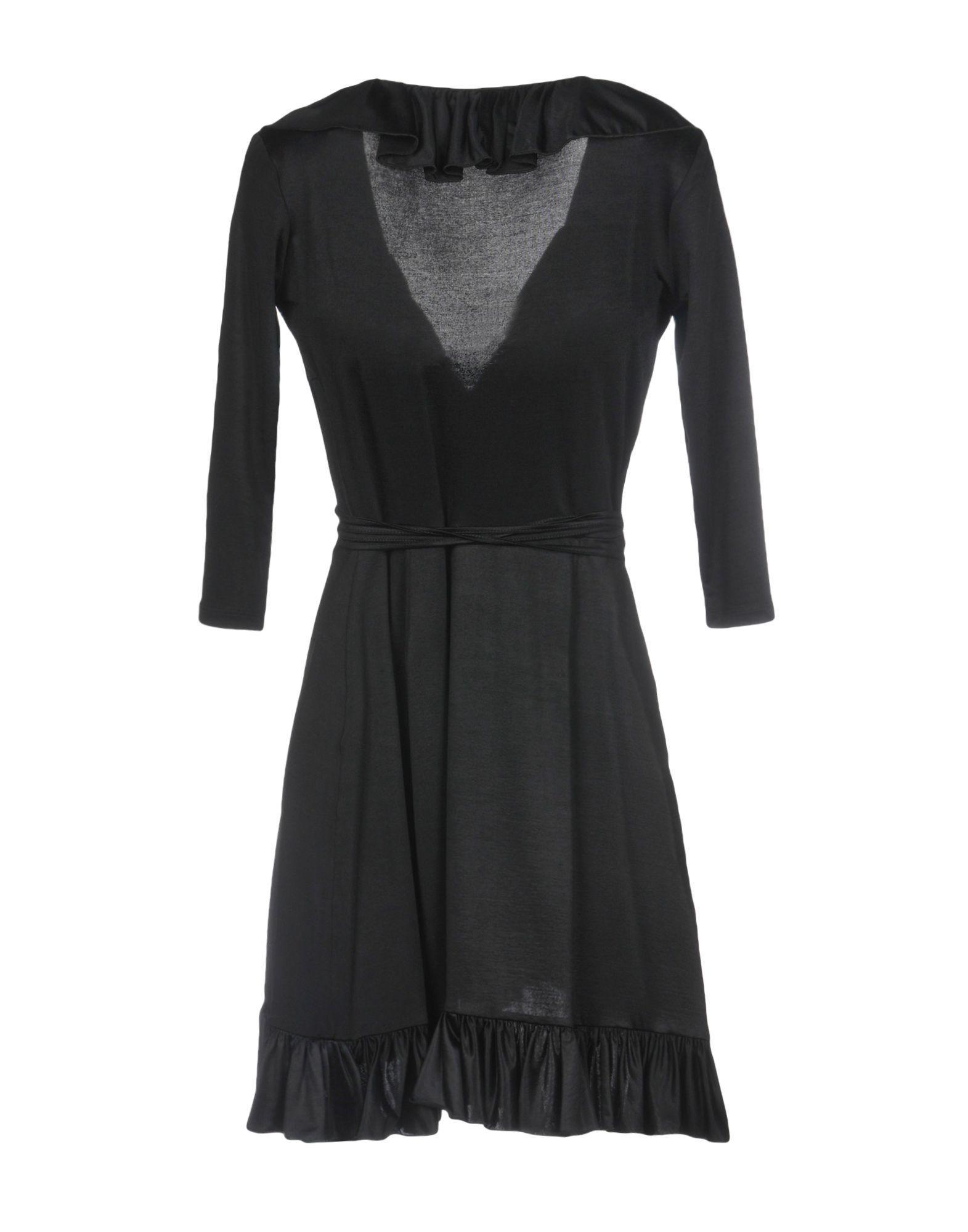 Robe courte Synthétique Mariagrazia Panizzi en coloris Noir