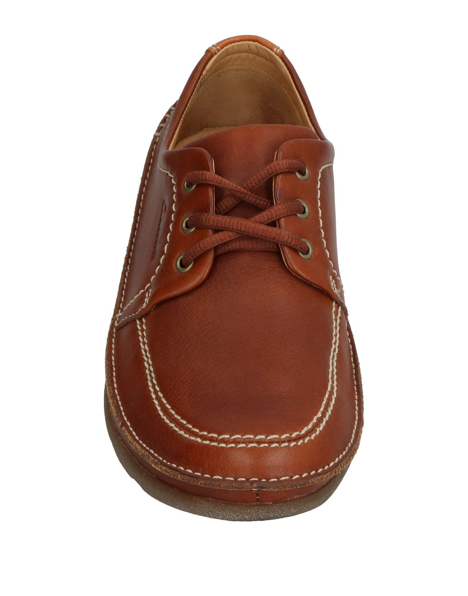 Clarks Leather Lace-up Shoe in Brown for Men