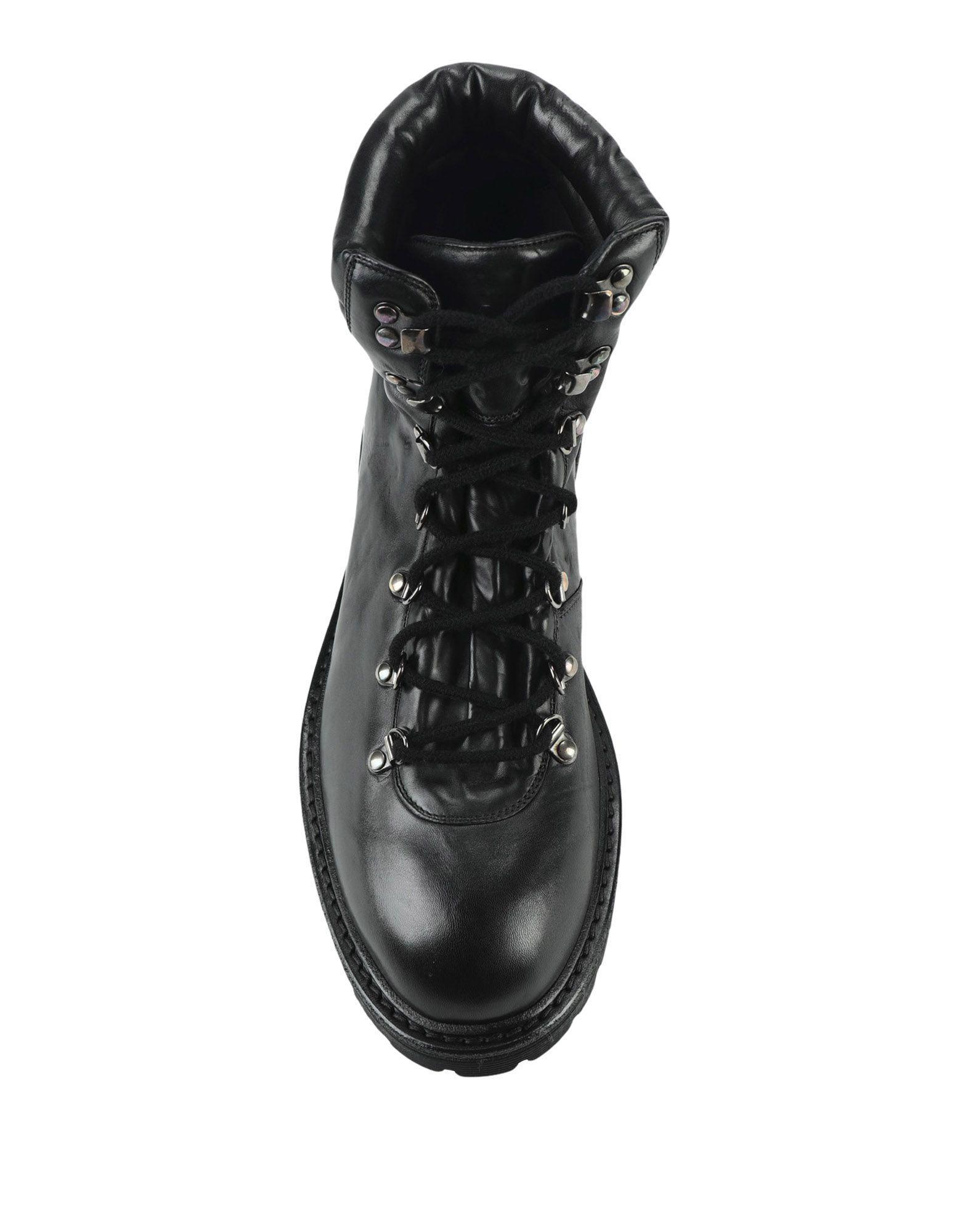 Botines de caña alta Raparo de Caucho de color Negro para hombre