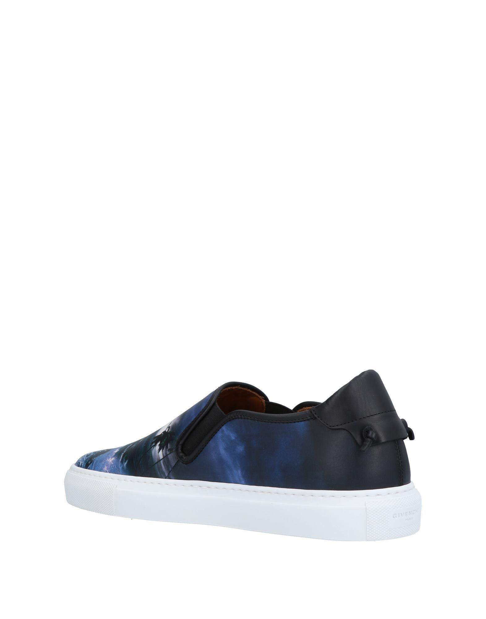 Givenchy Leather Low-tops & Sneakers in Blue